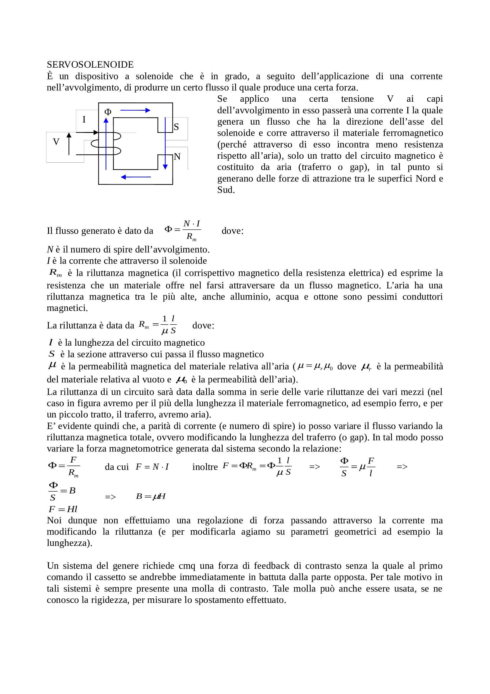 Meccatronica - Appunti Pag. 1
