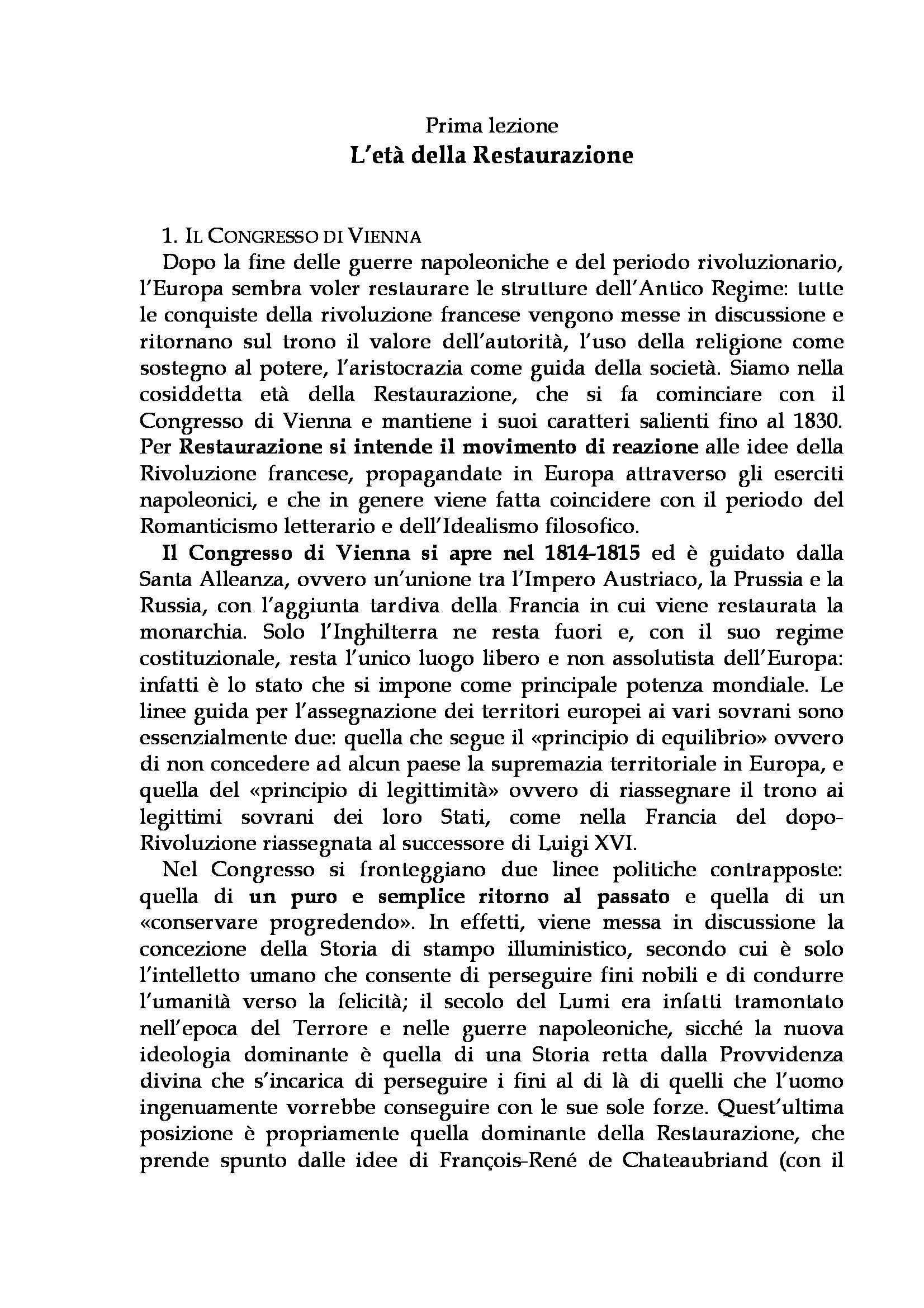 appunto C. Colaiacomo Letteratura italiana