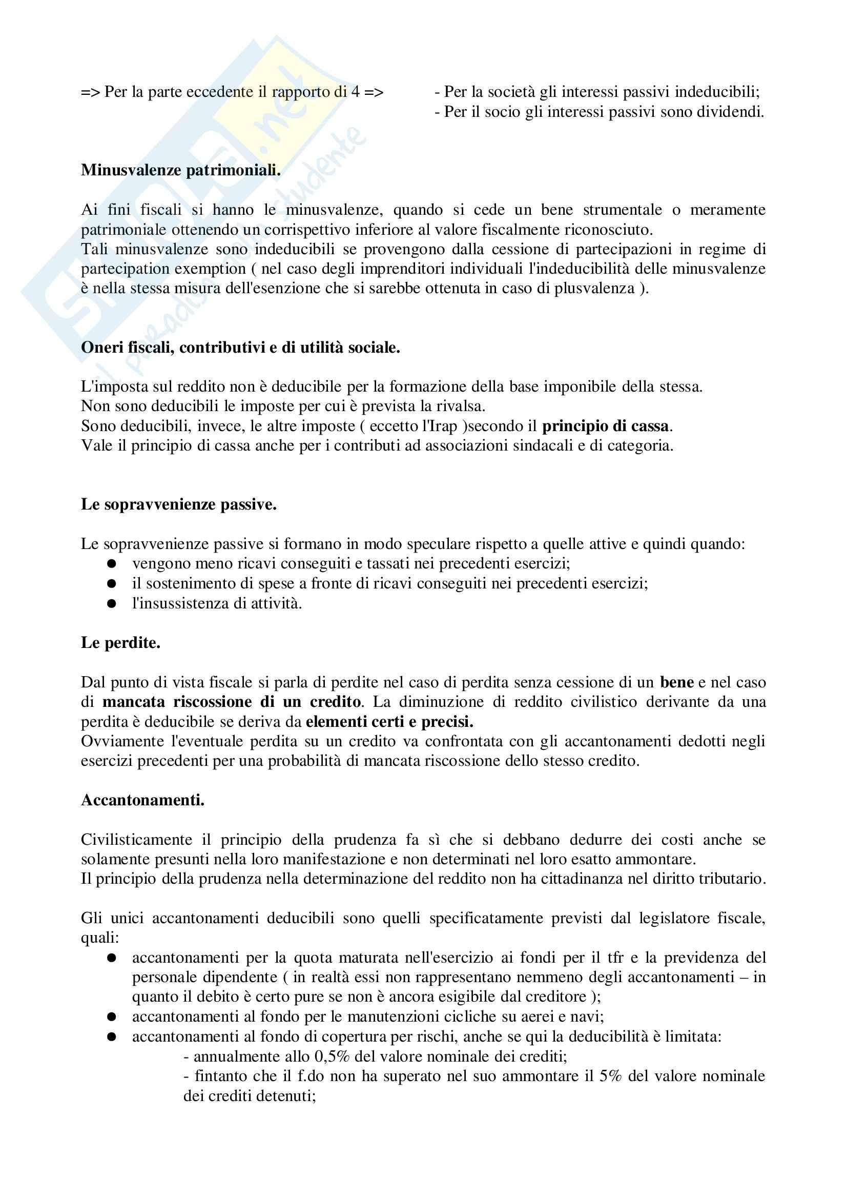 Diritto tributario - parte speciale - Riassunto esame, prof. Ragucci Pag. 21