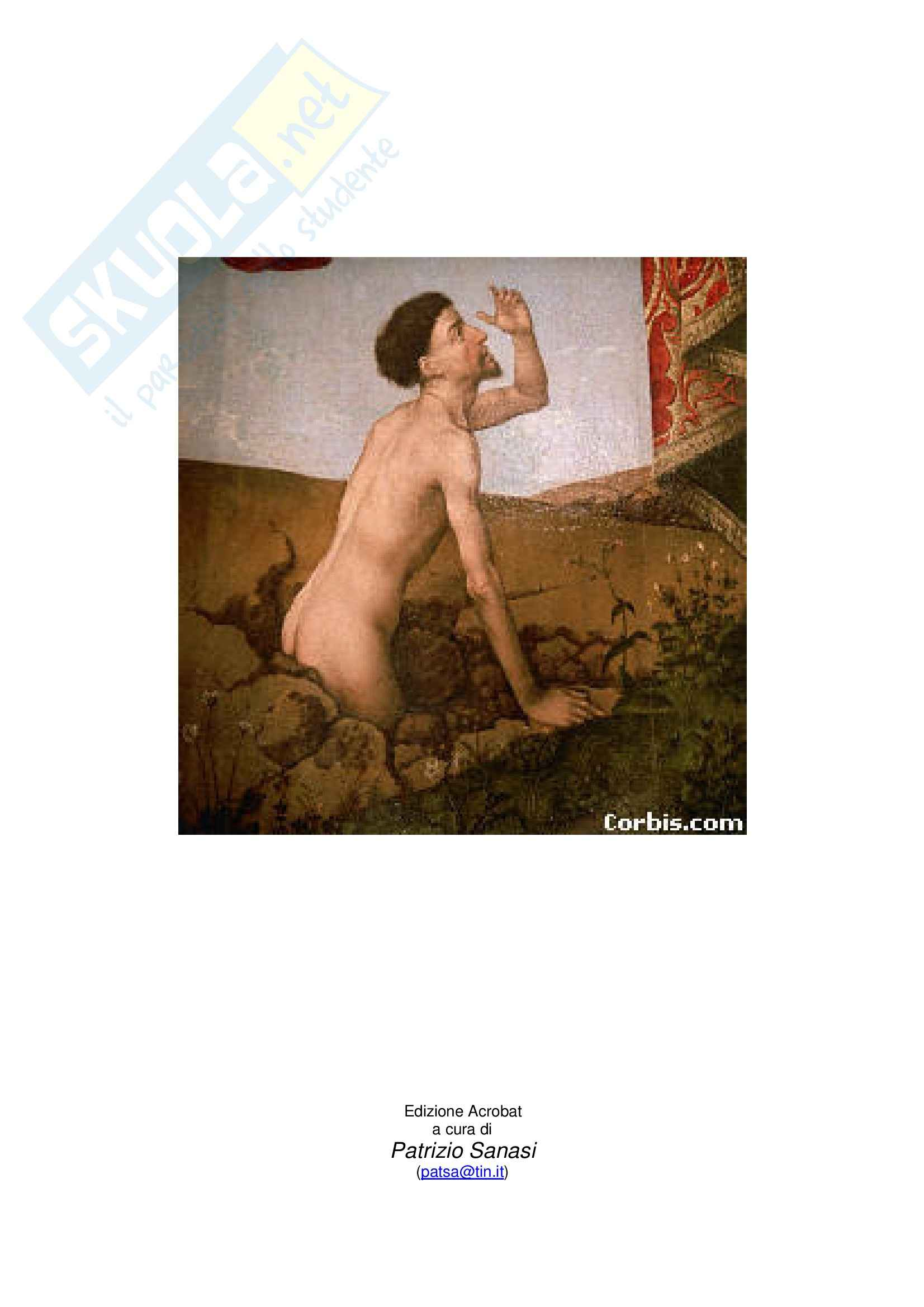 Riassunto esame Letteratura tedesca, prof. Frola, libro consigliato Tonio Kruger