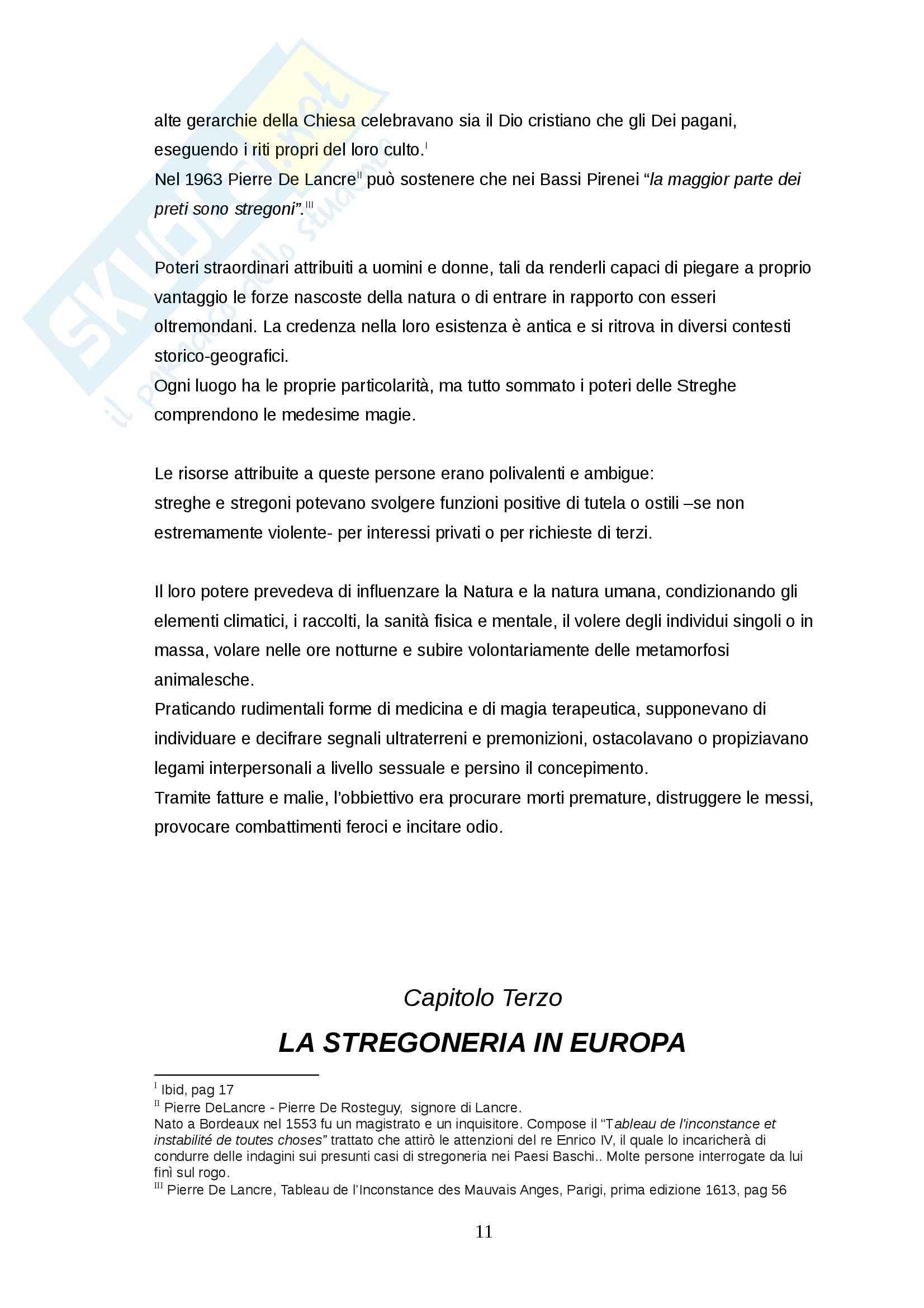 Tesi - Stregoneria Pag. 11