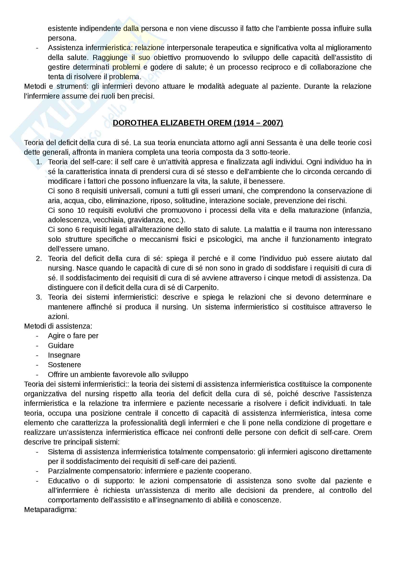Infermieristica generale Pag. 6