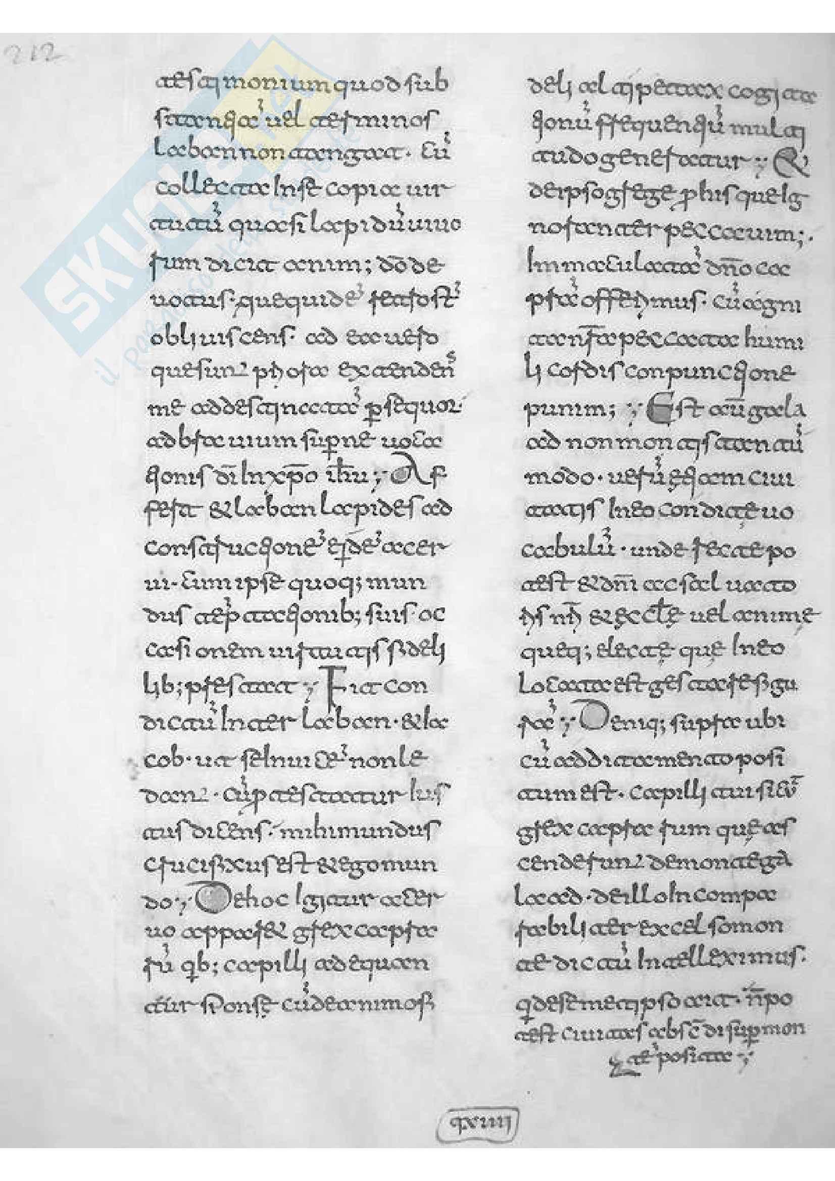 Montecassino, Archivio dell'Abbazia 42, p. 212 Pag. 1