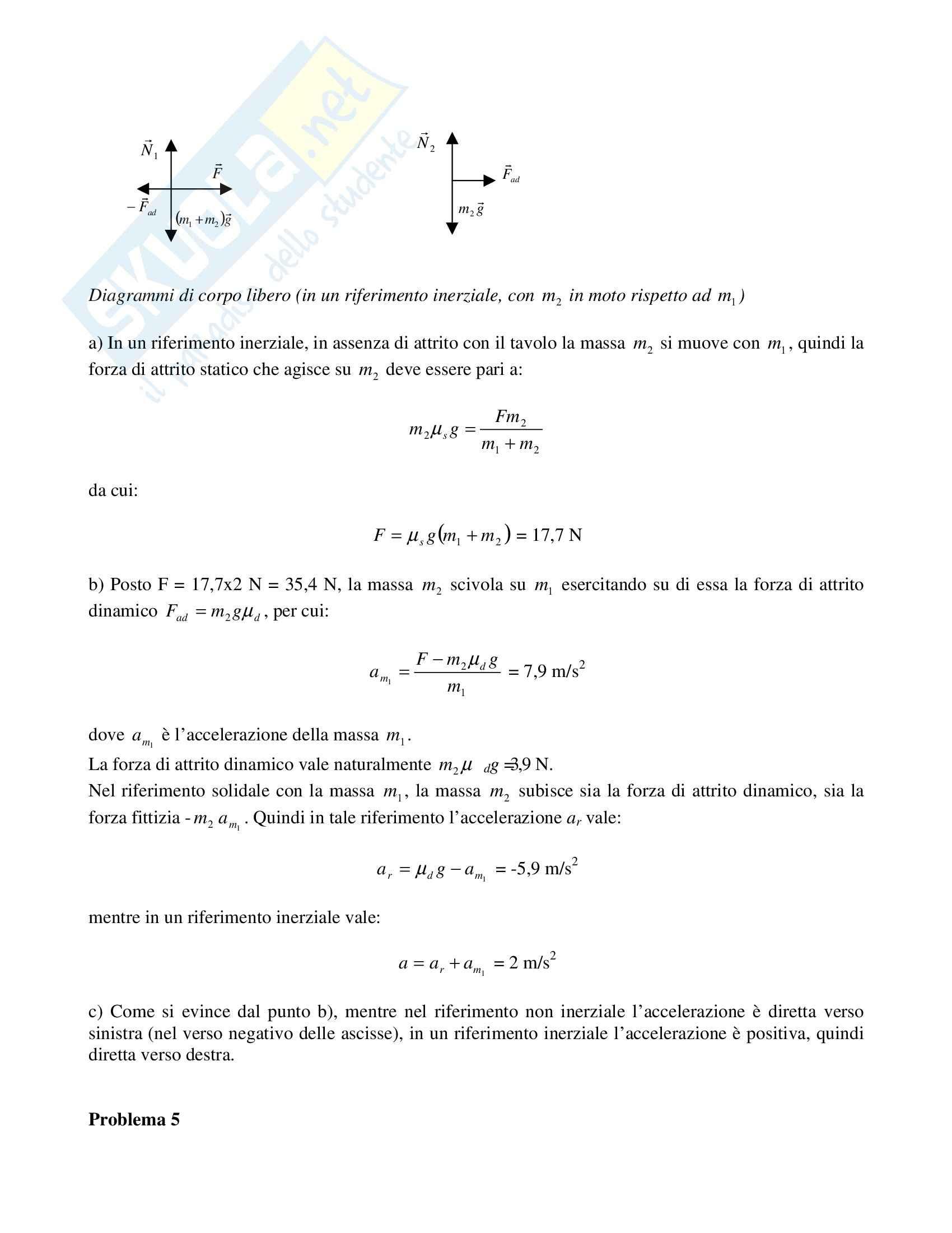 Risoluzione problemi di fisica Pag. 16