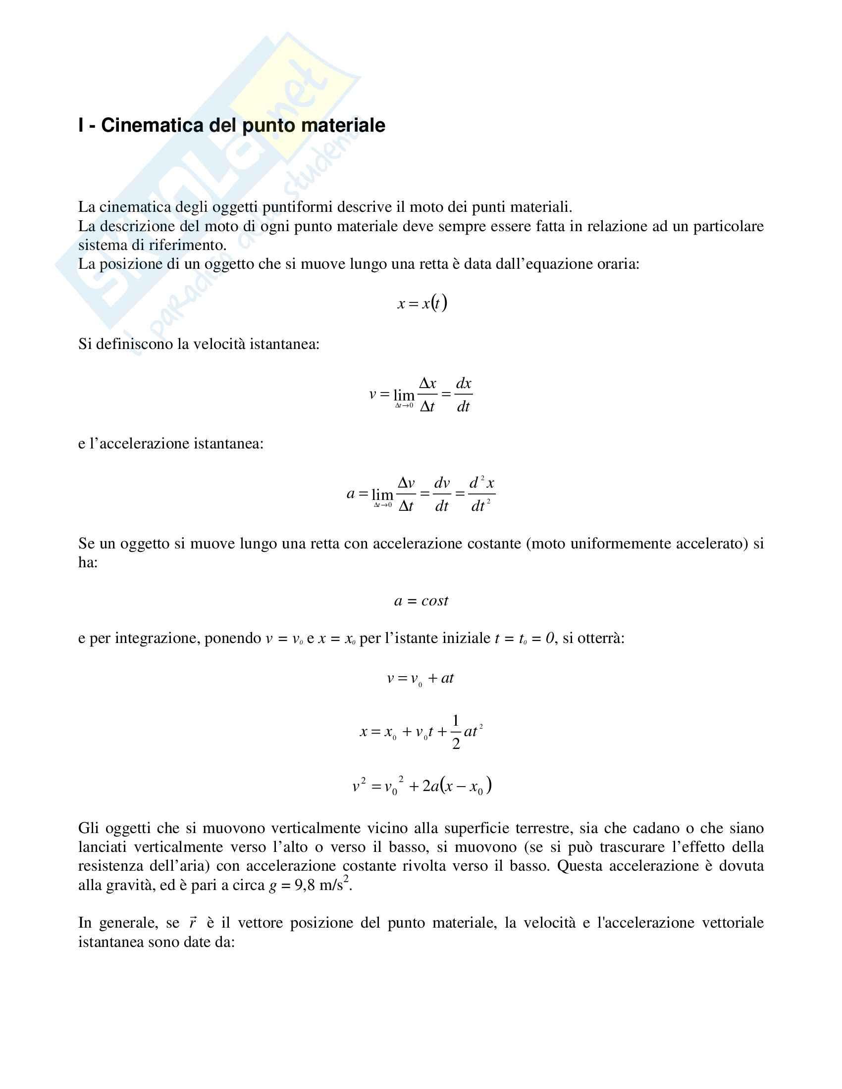 Risoluzione problemi di fisica Pag. 2
