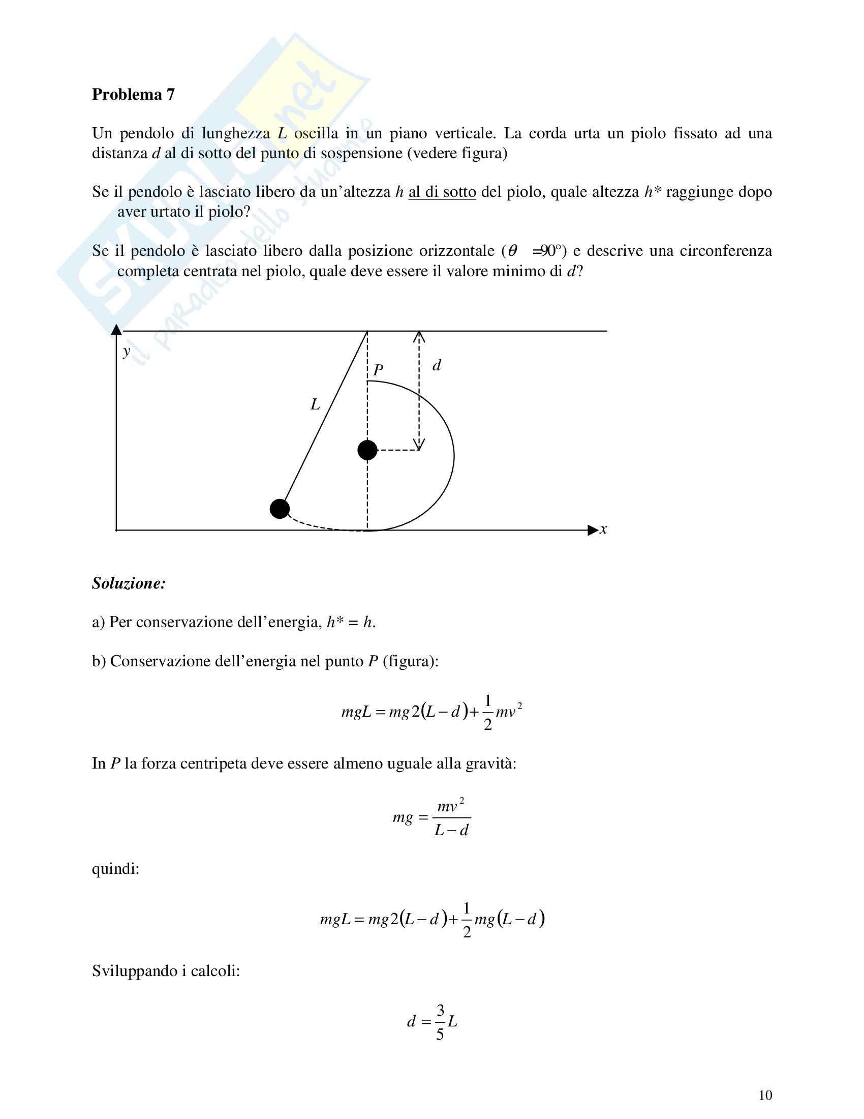 Risoluzione problemi di fisica Pag. 36