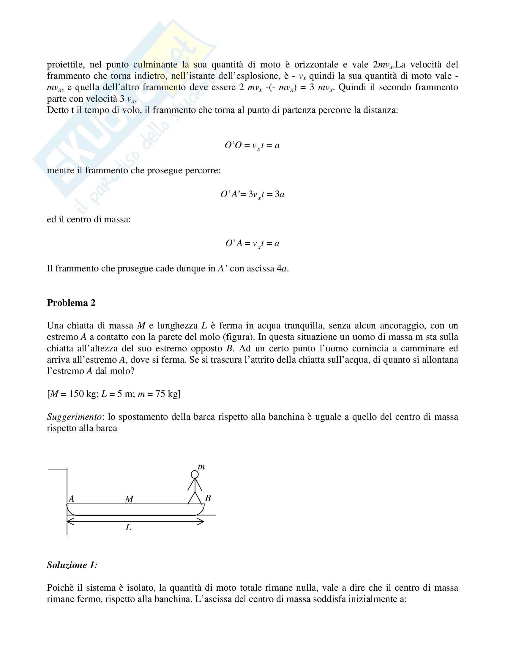 Risoluzione problemi di fisica Pag. 41