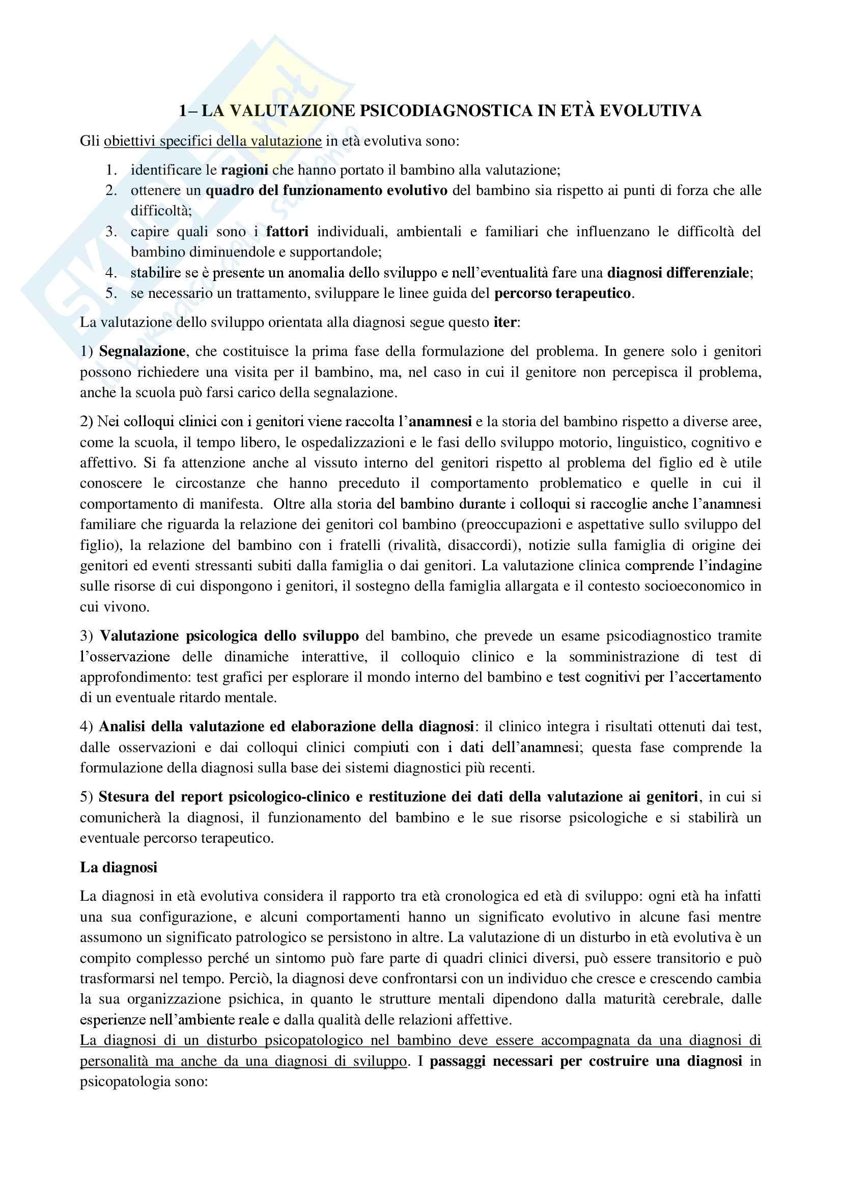 appunto L. Lucarelli Psicologia dinamica
