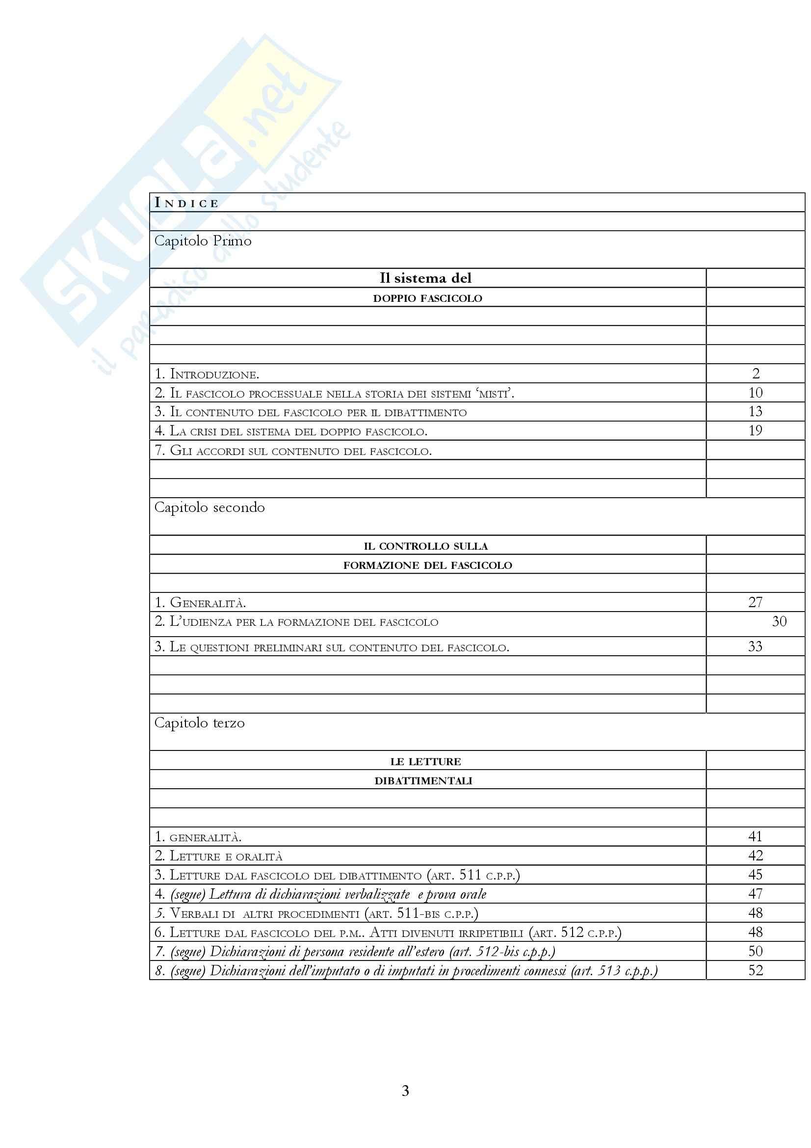 Diritto processuale penale - i fascicoli del processo penale Pag. 2