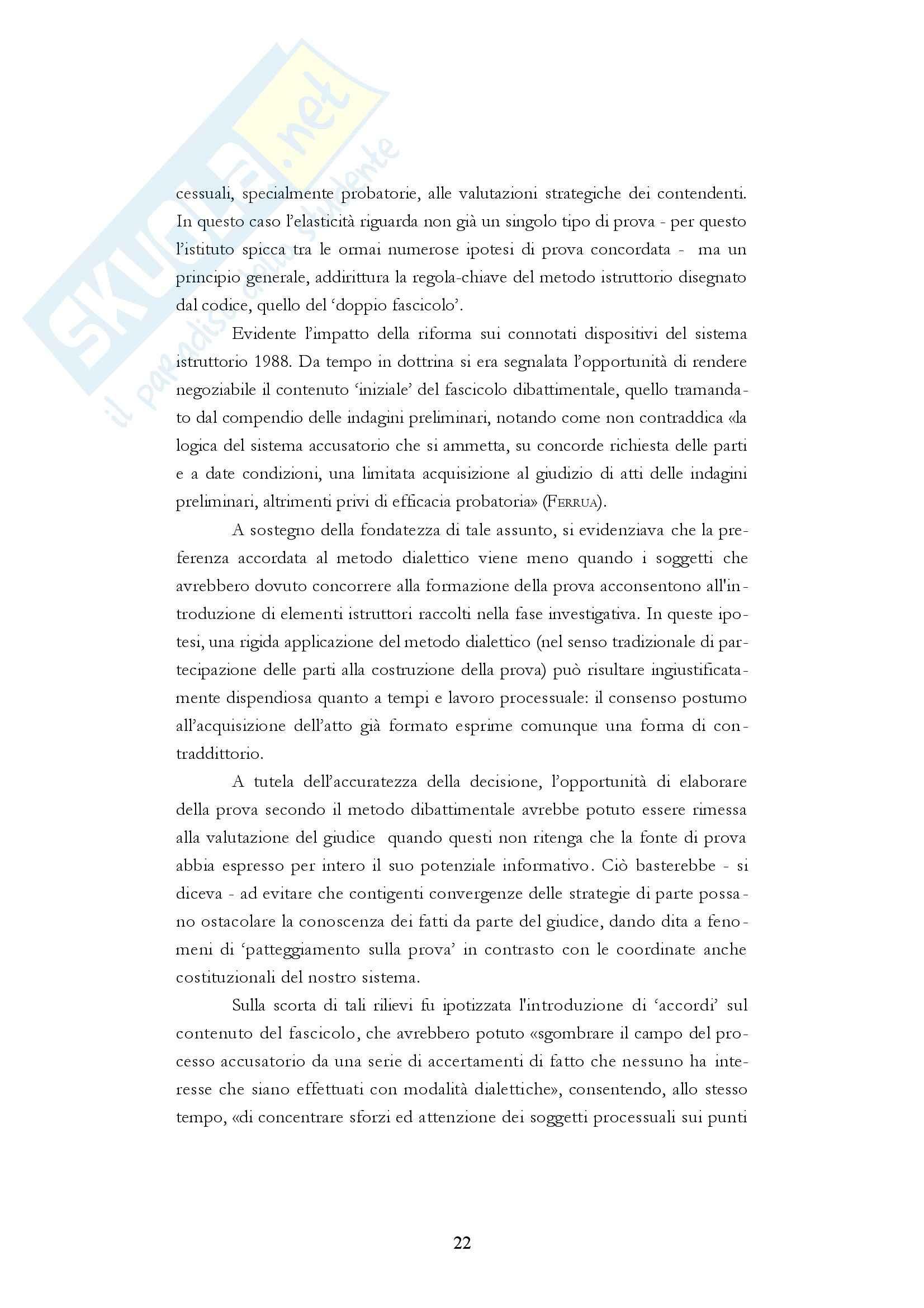 Diritto processuale penale - i fascicoli del processo penale Pag. 21