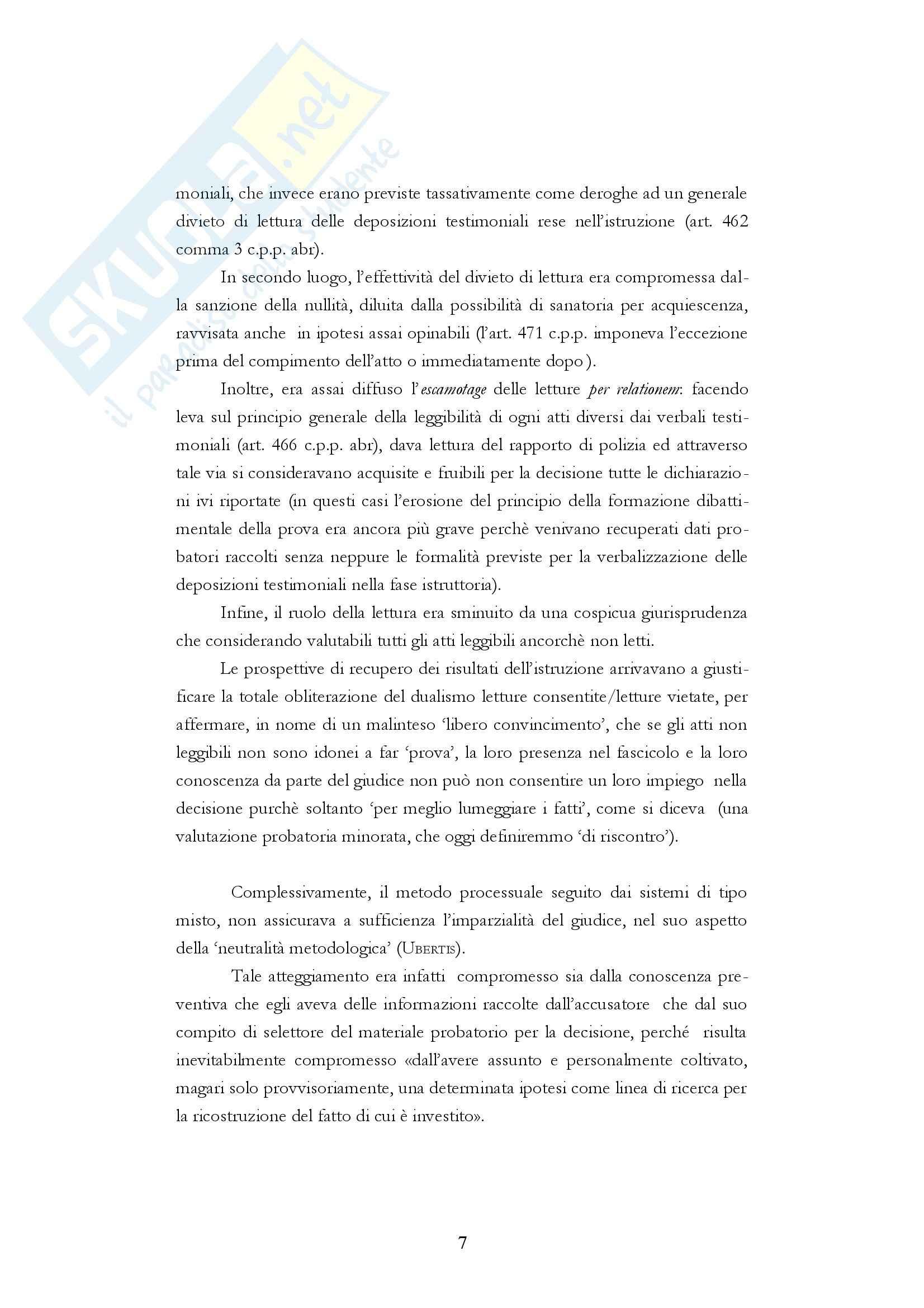 Diritto processuale penale - i fascicoli del processo penale Pag. 6