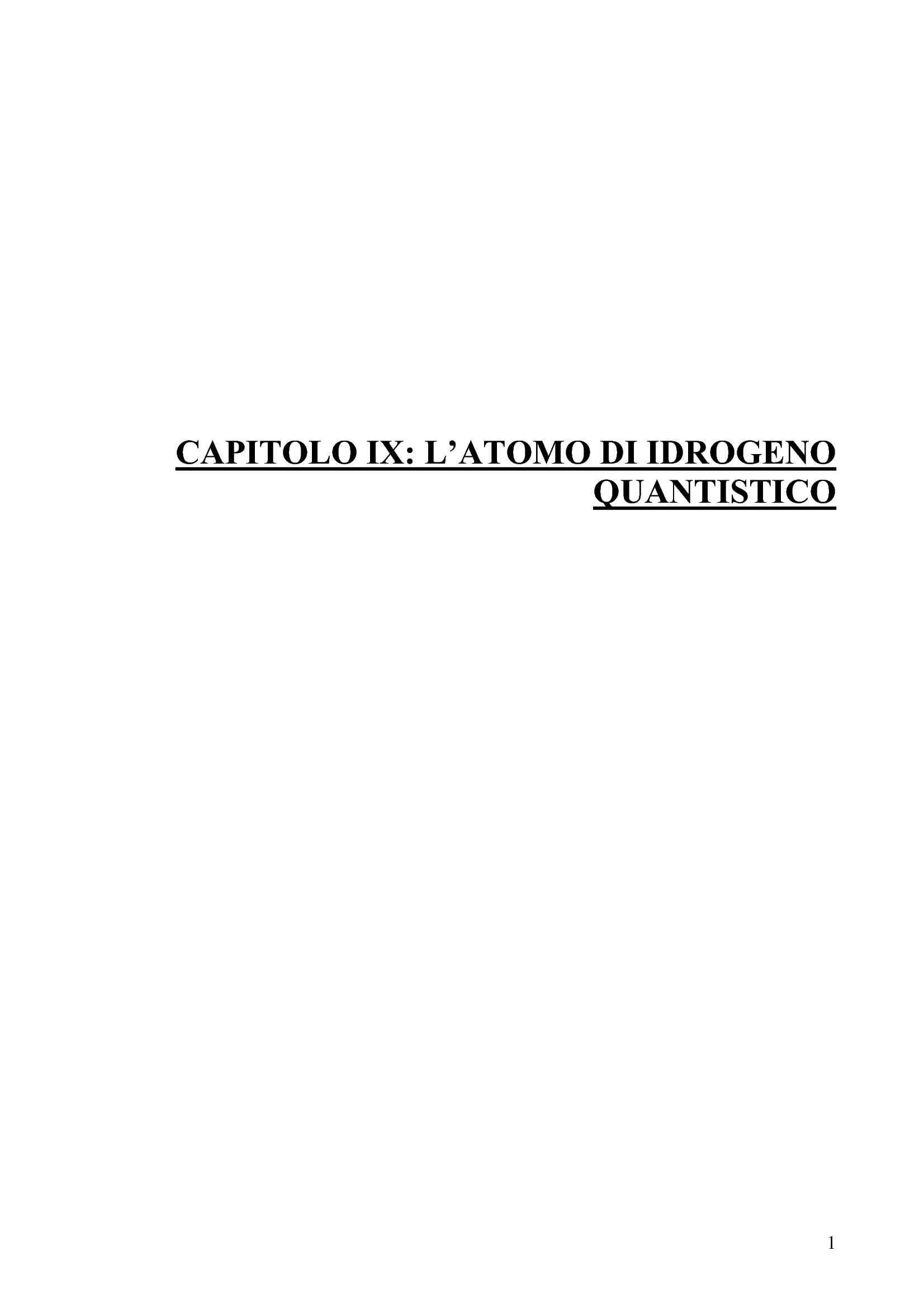 dispensa A. Giovannini Meccanica quantistica I