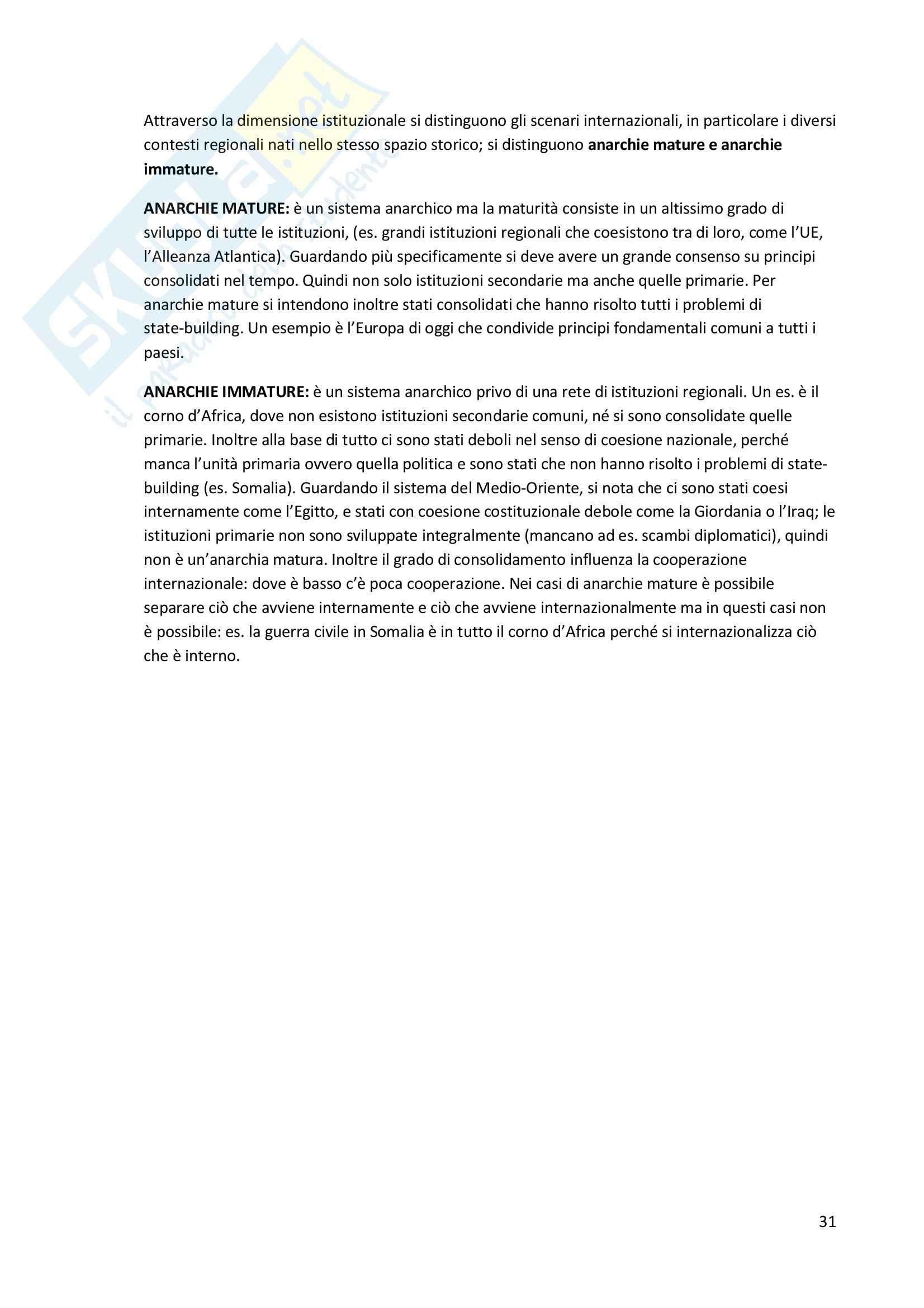 Storia delle relazioni internazionali - Appunti Pag. 31