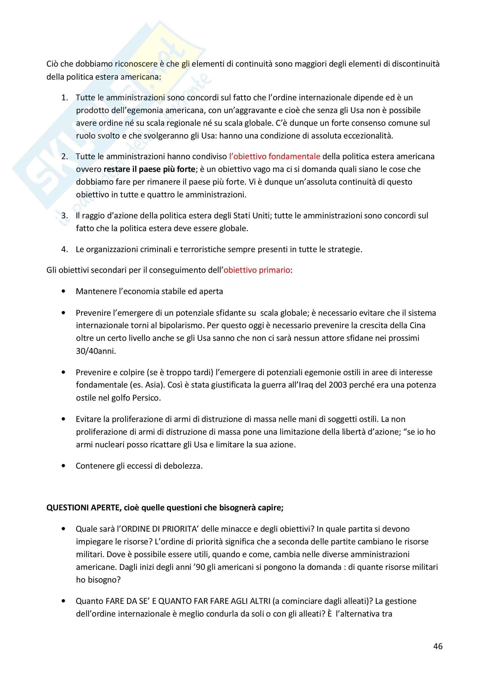 Storia delle relazioni internazionali - Appunti Pag. 46