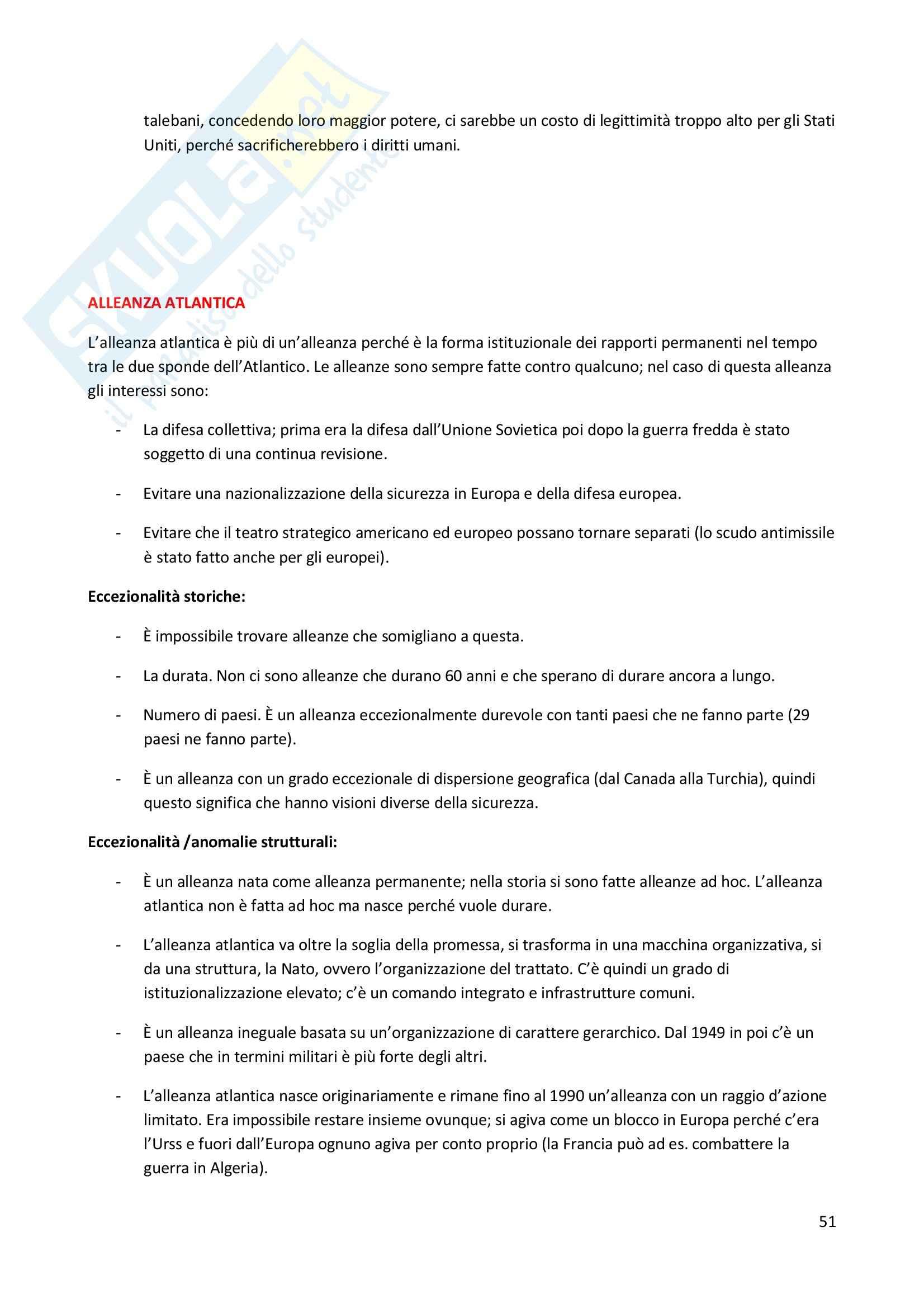 Storia delle relazioni internazionali - Appunti Pag. 51