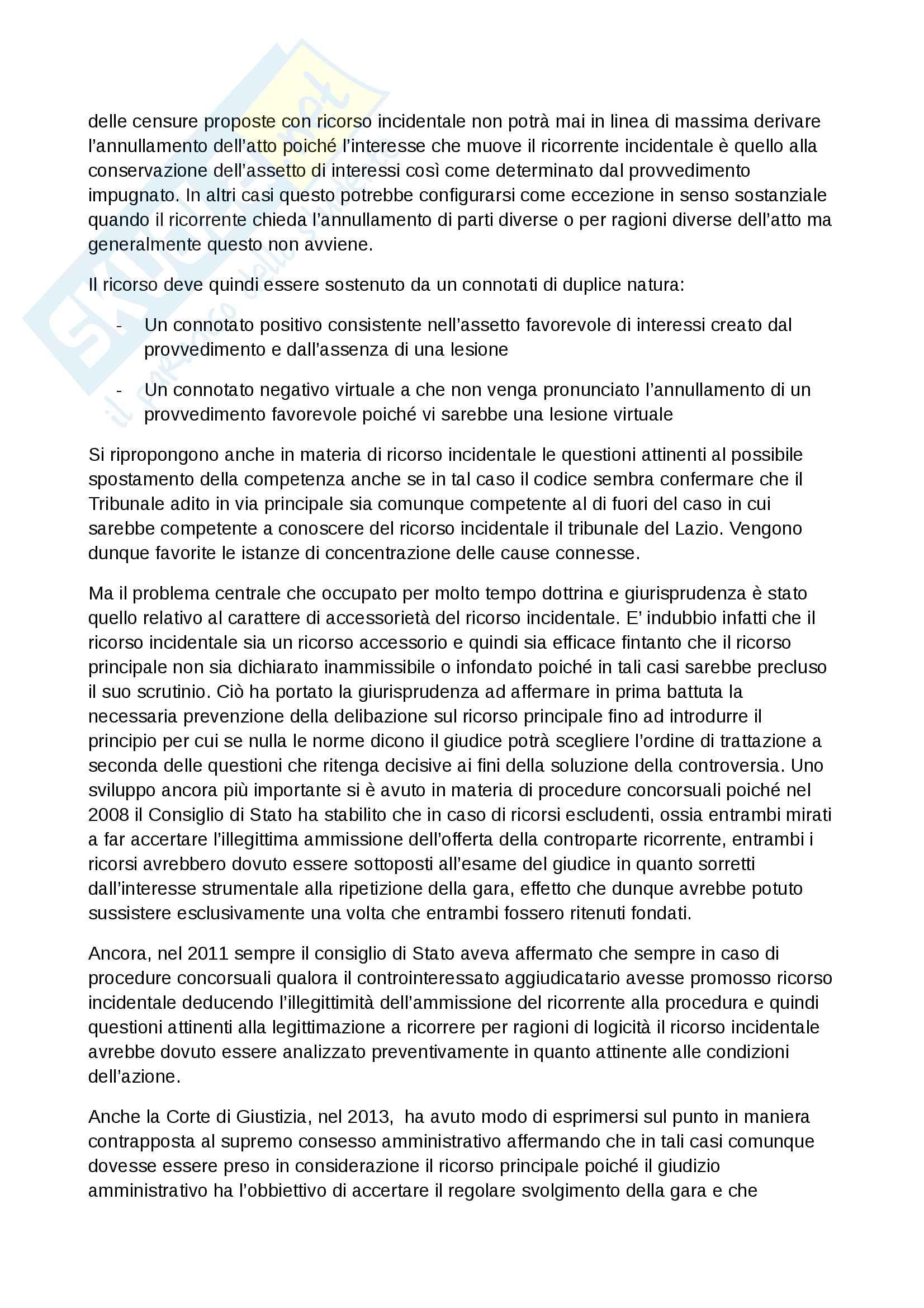 Riassunti Giustizia amministrativa, Prof. Volpe, libro consigliato Giustizia amministrativa, Scoca Pag. 26