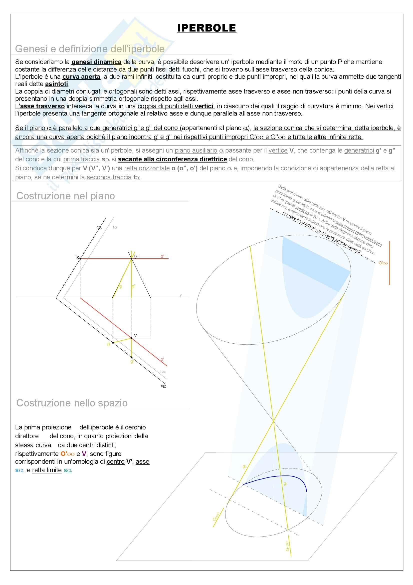 Riassunto esame Geometria, prof. Pagliano, libro consigliato La geometria animata, Gesuele Pag. 31