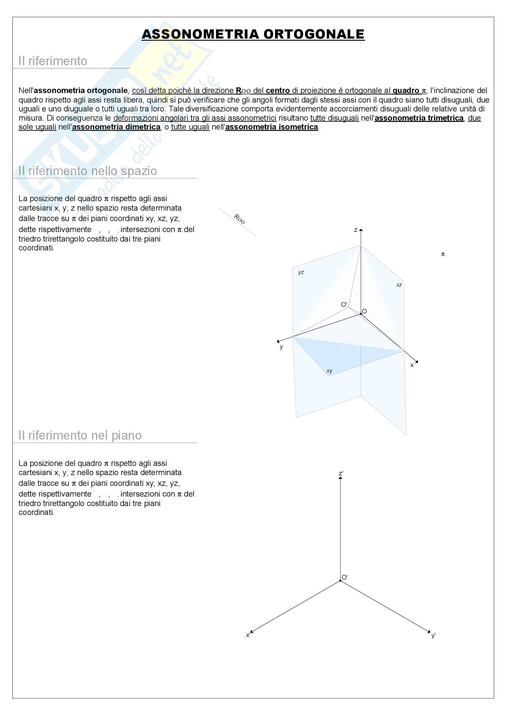Riassunto esame Geometria, prof. Pagliano, libro consigliato La geometria animata, Gesuele Pag. 36