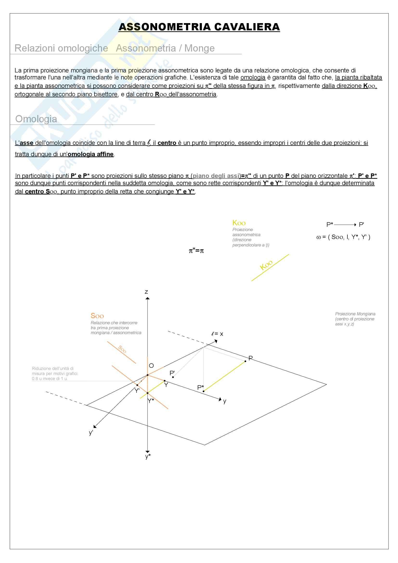 Riassunto esame Geometria, prof. Pagliano, libro consigliato La geometria animata, Gesuele Pag. 41