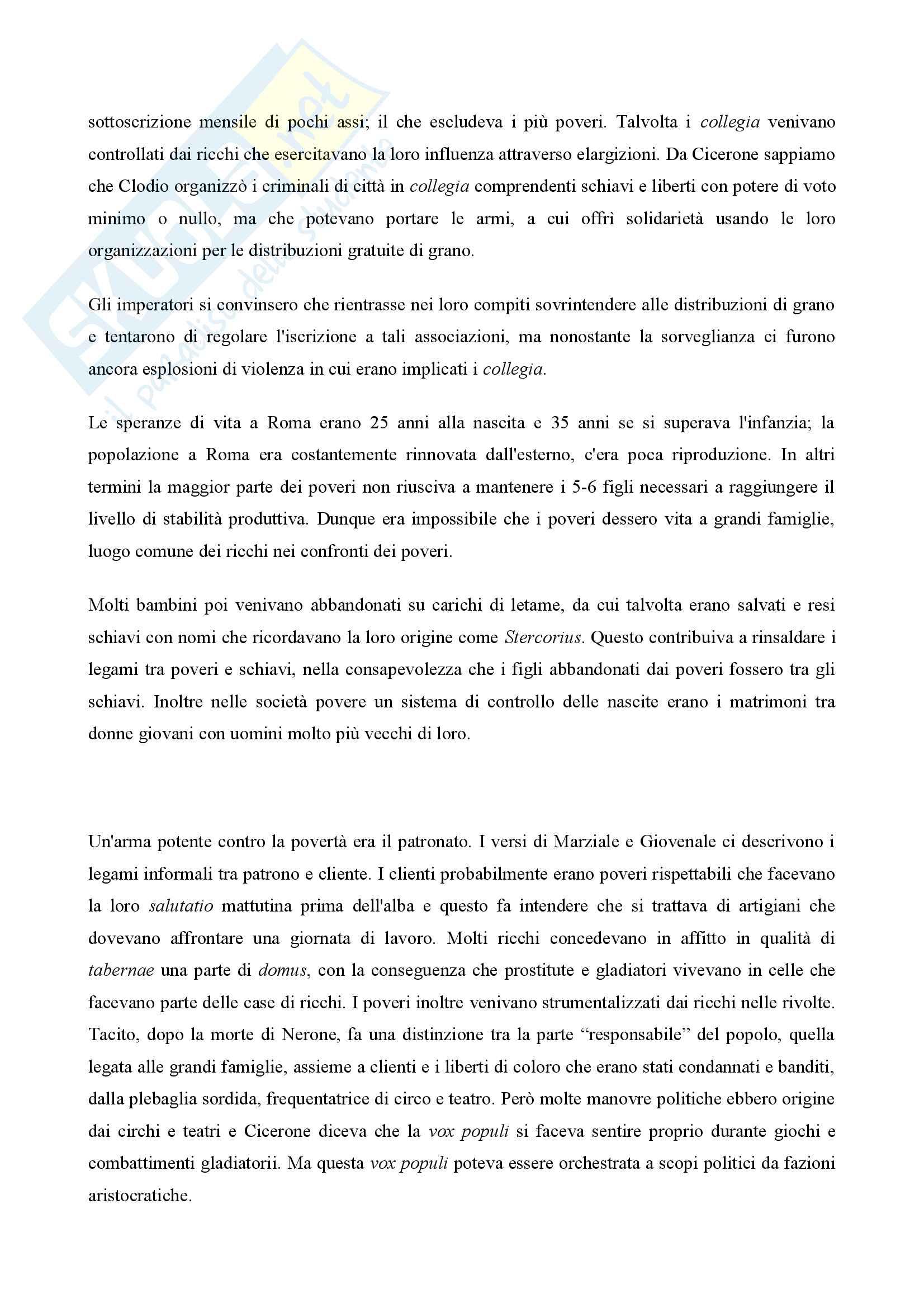 Riassunto esame Storia romana I, prof. Porena, libro consigliato L'uomo romano a cura di Andrea Giardina Pag. 31