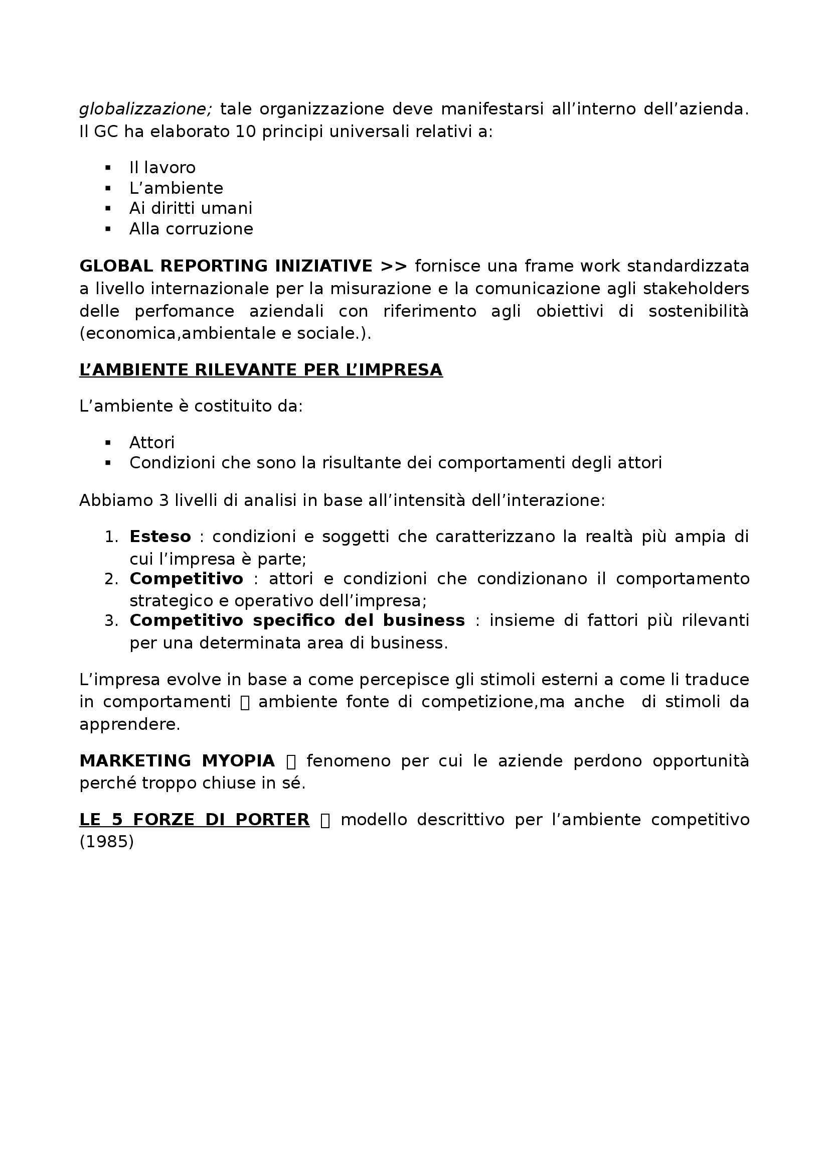 Fondamenti di management - management Pag. 2