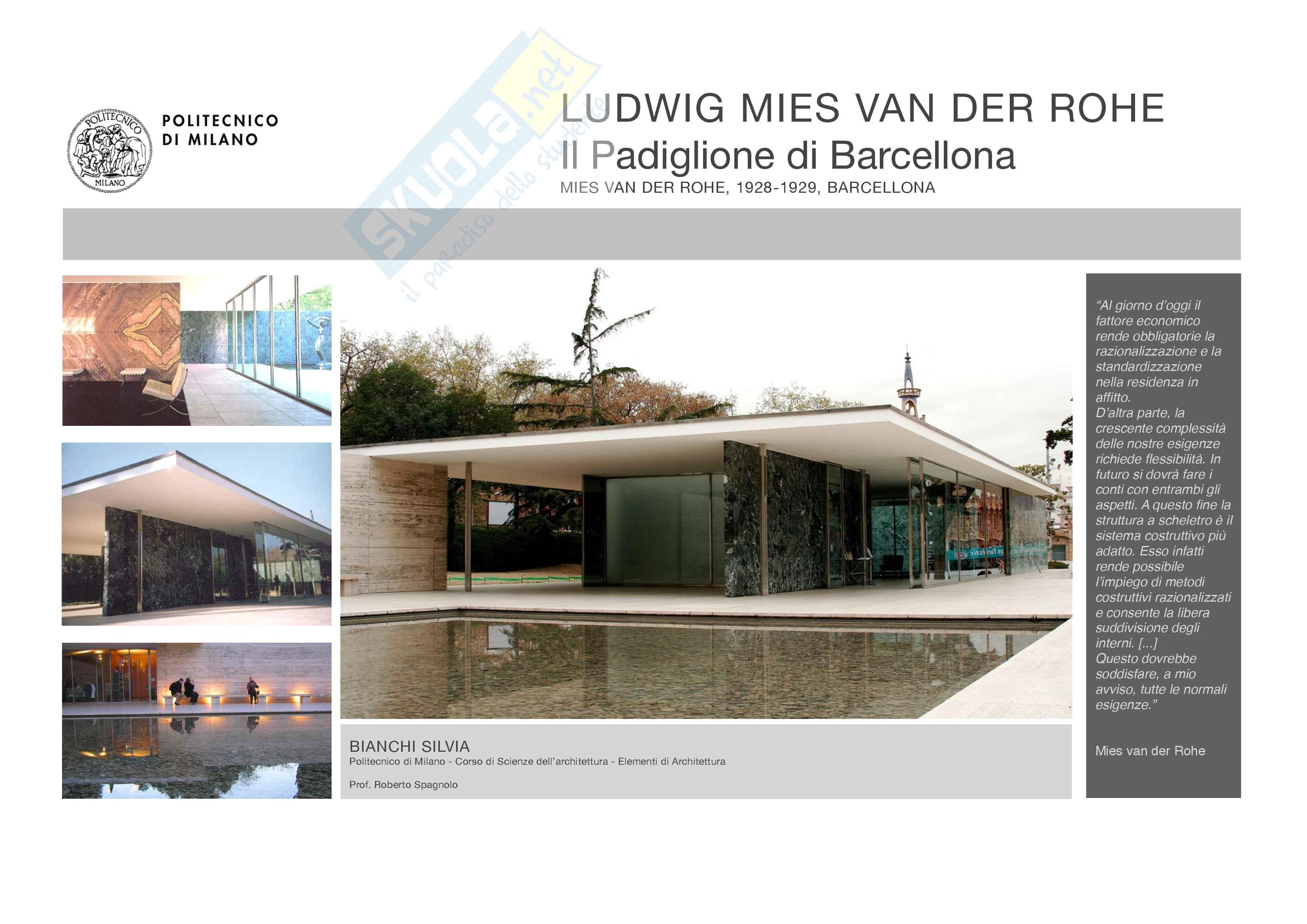 Padiglione di Barcellona