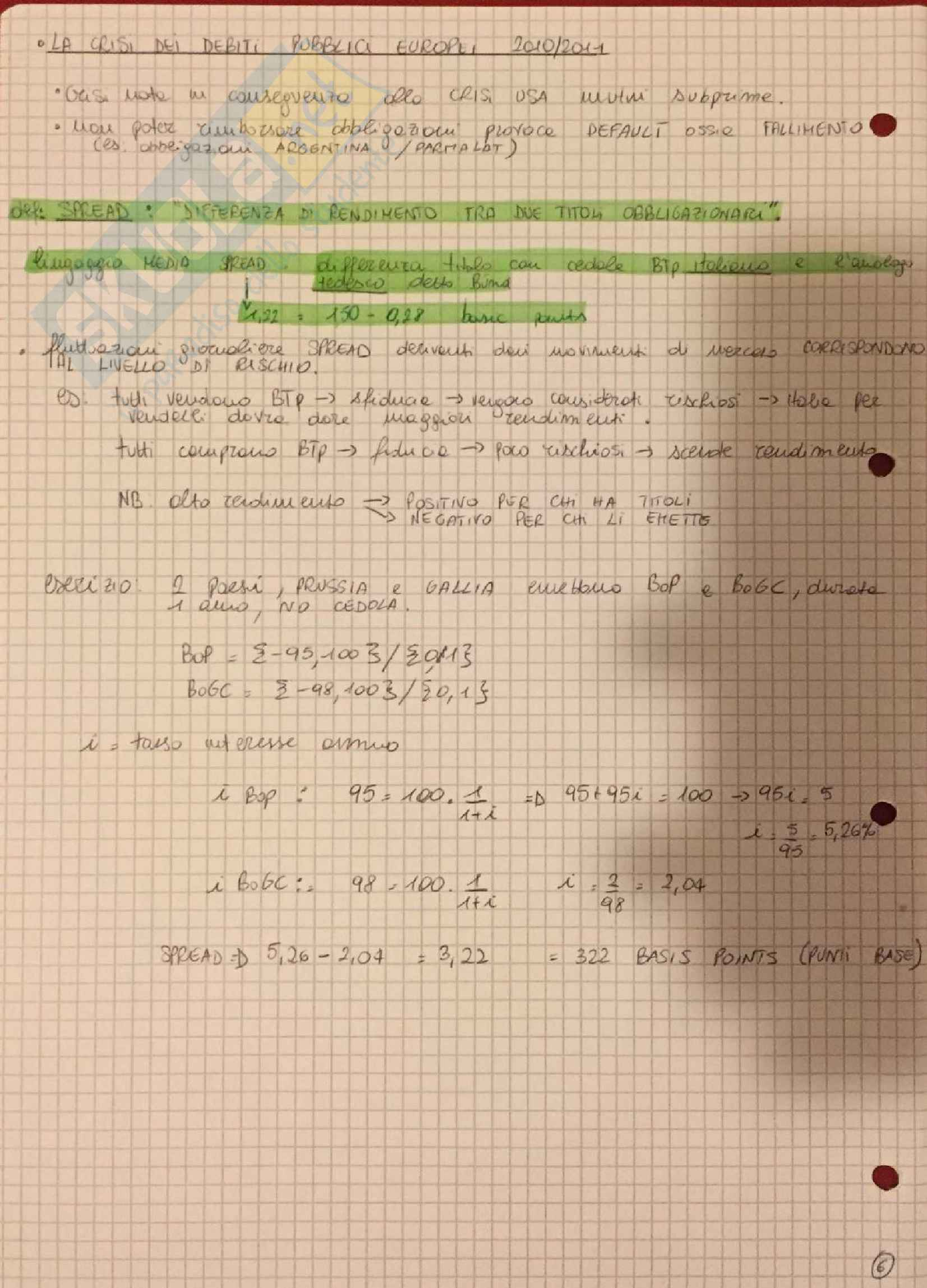 Appunti Matematica Finanziaria - De Marchis Pag. 6
