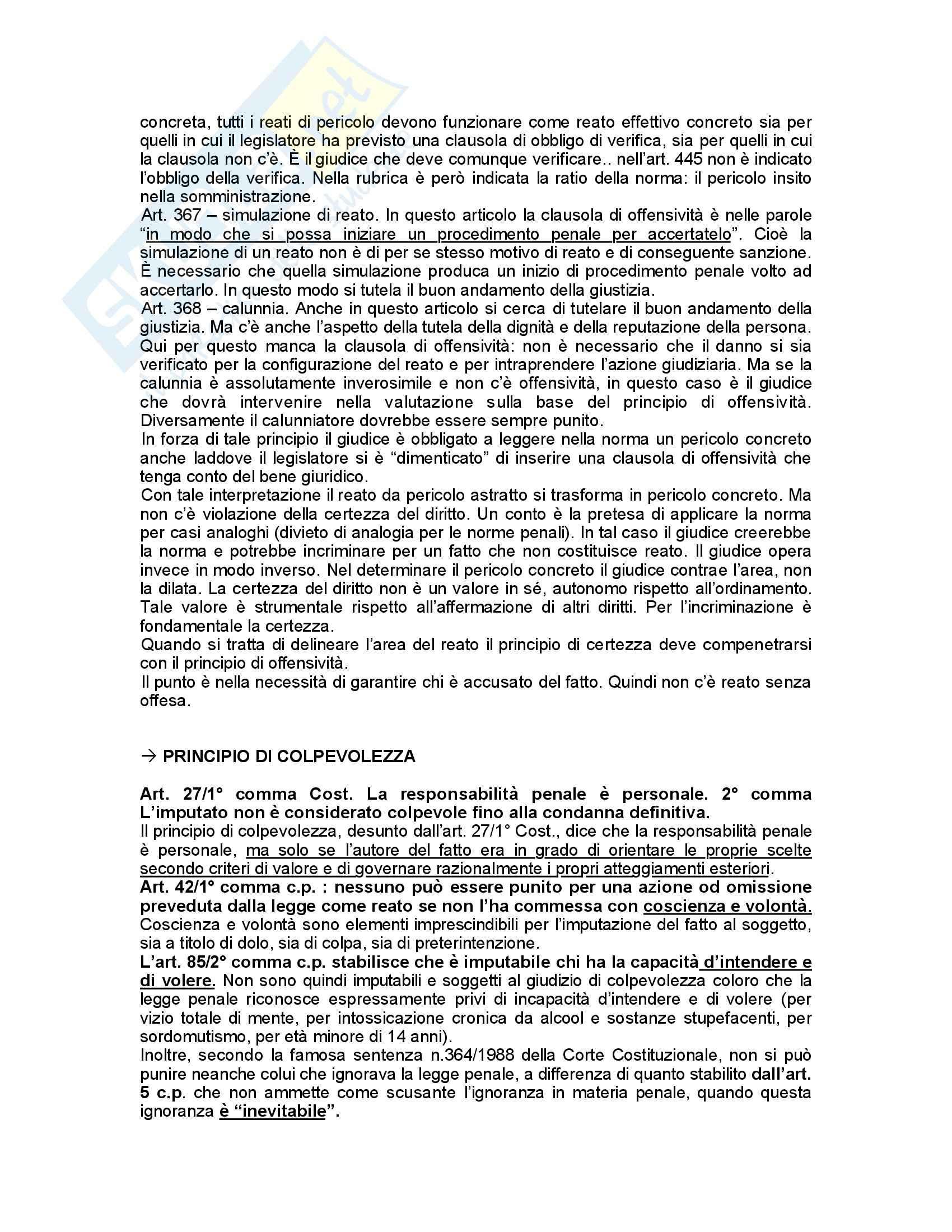 Diritto penale - Padovani - Appunti Pag. 11
