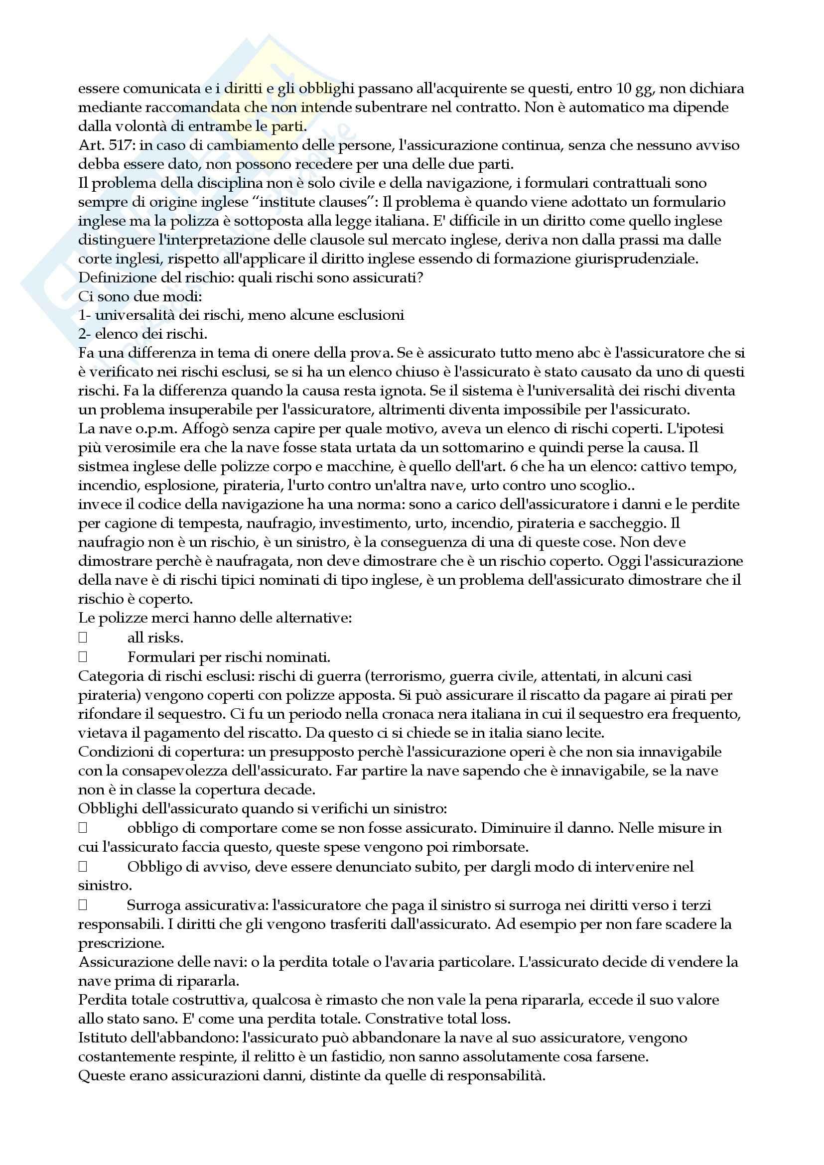 Lezioni, Diritto della navigazione Pag. 41