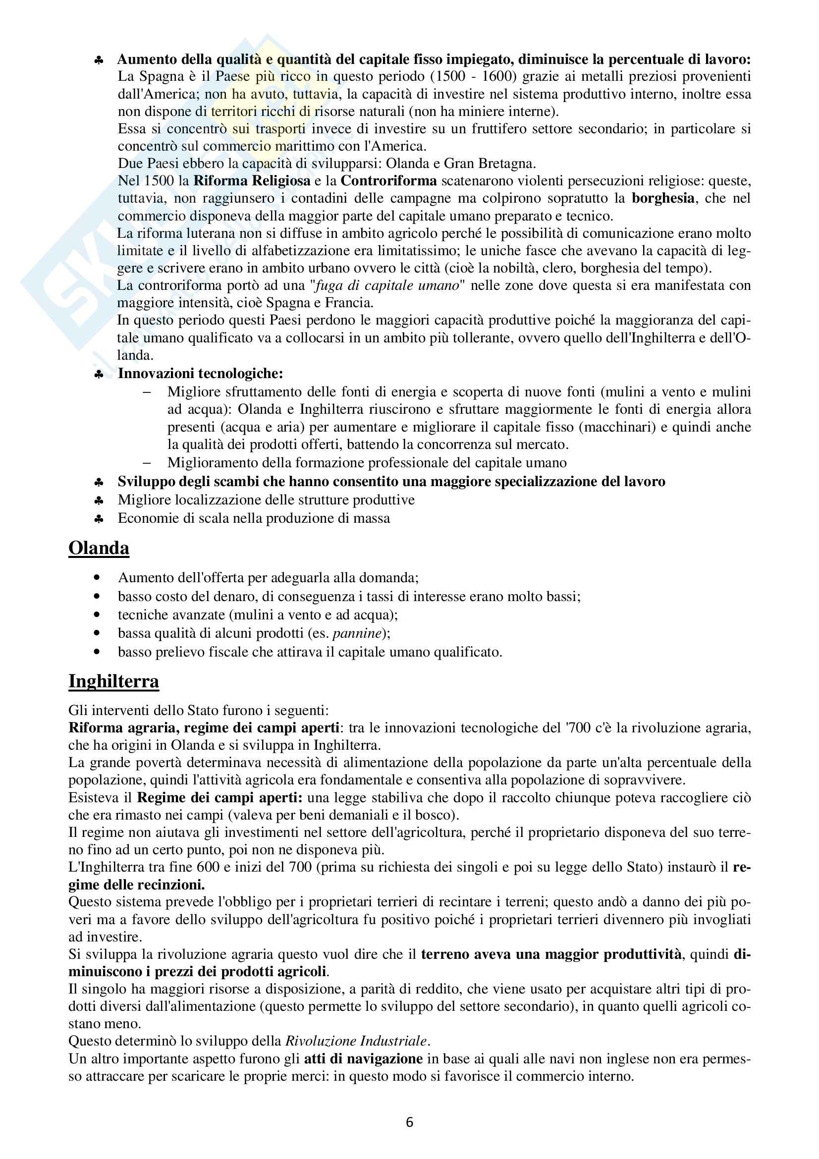 Storia della Finanza - Appunti Pag. 6