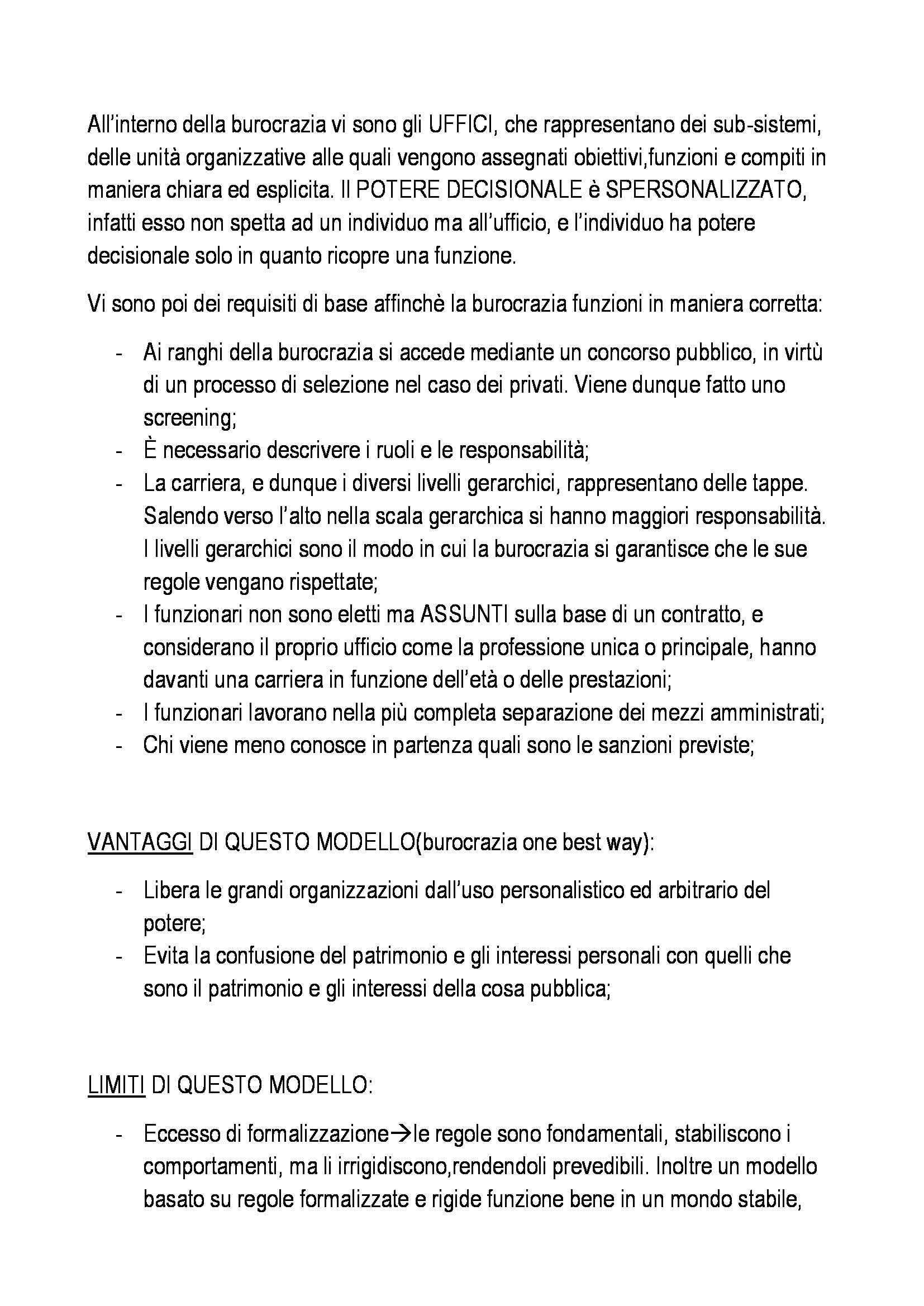 Organizzazione aziendale - Appunti Pag. 11