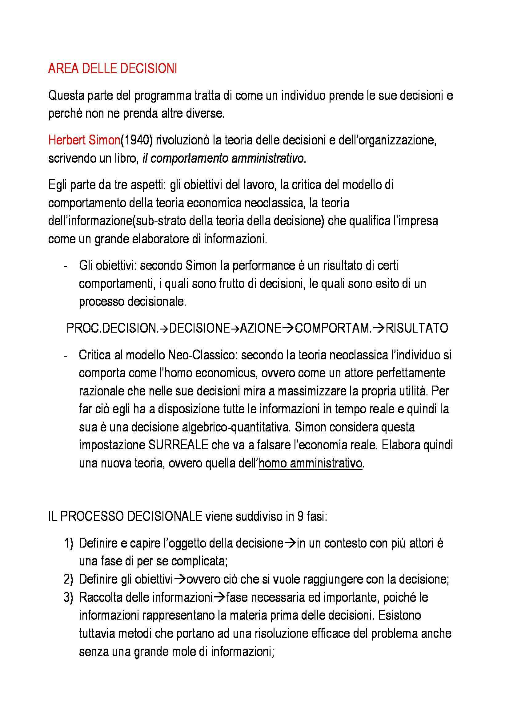 Organizzazione aziendale - Appunti Pag. 21