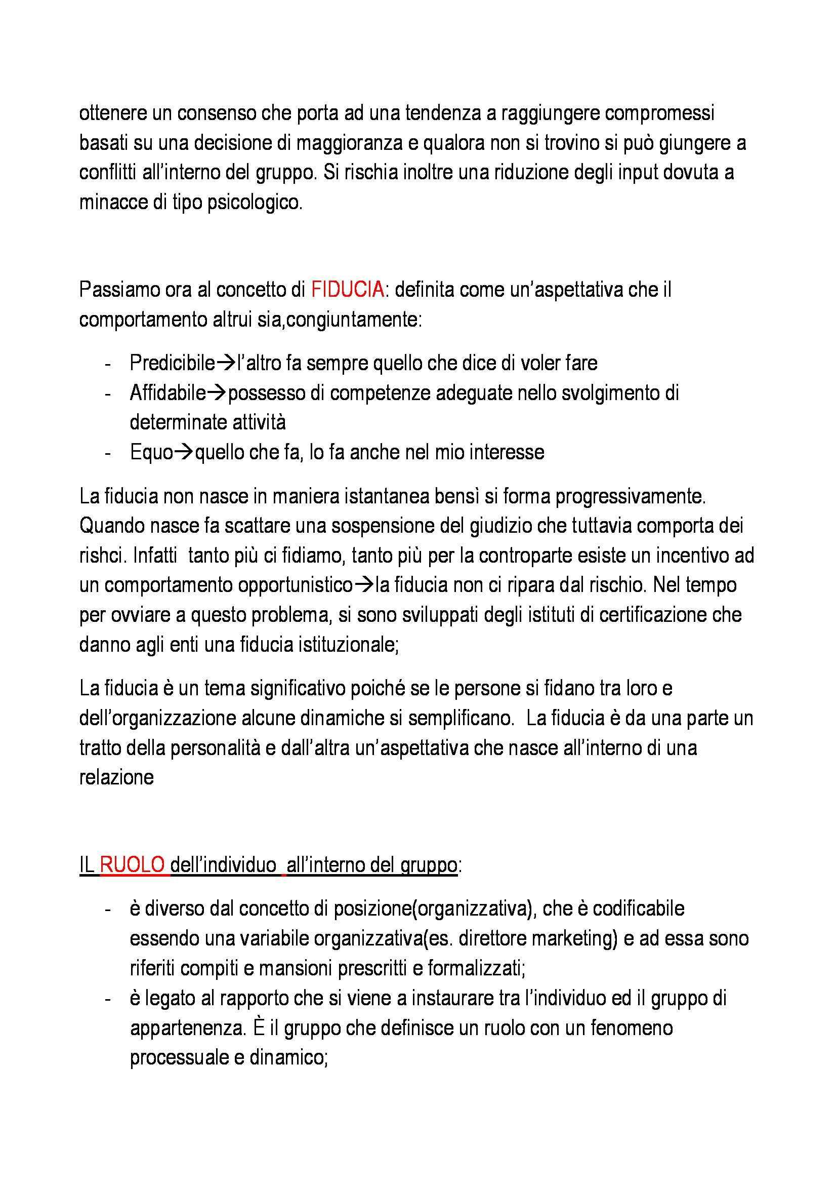 Organizzazione aziendale - Appunti Pag. 31