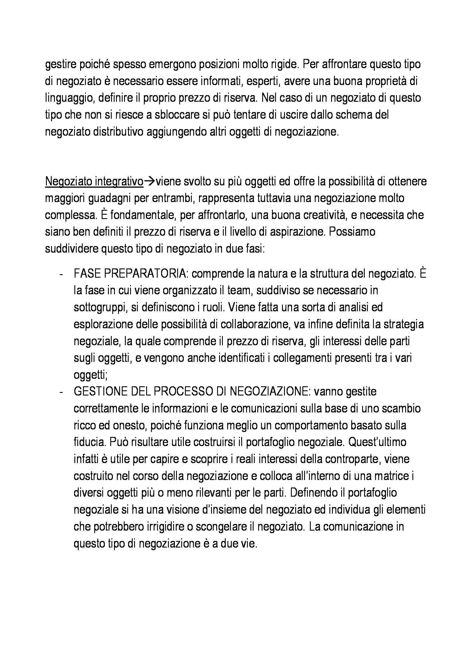 Organizzazione aziendale - Appunti Pag. 36