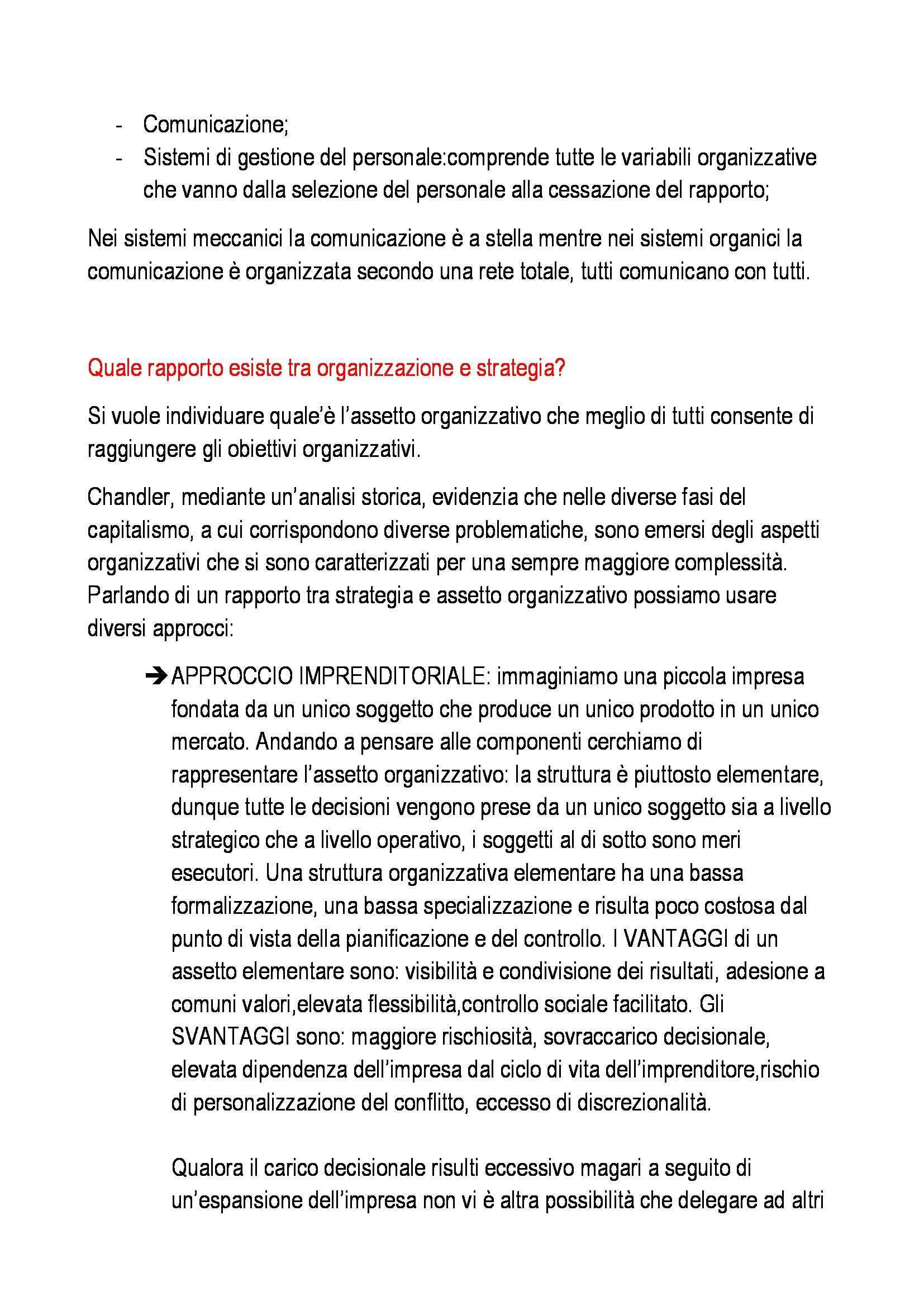 Organizzazione aziendale - Appunti Pag. 46