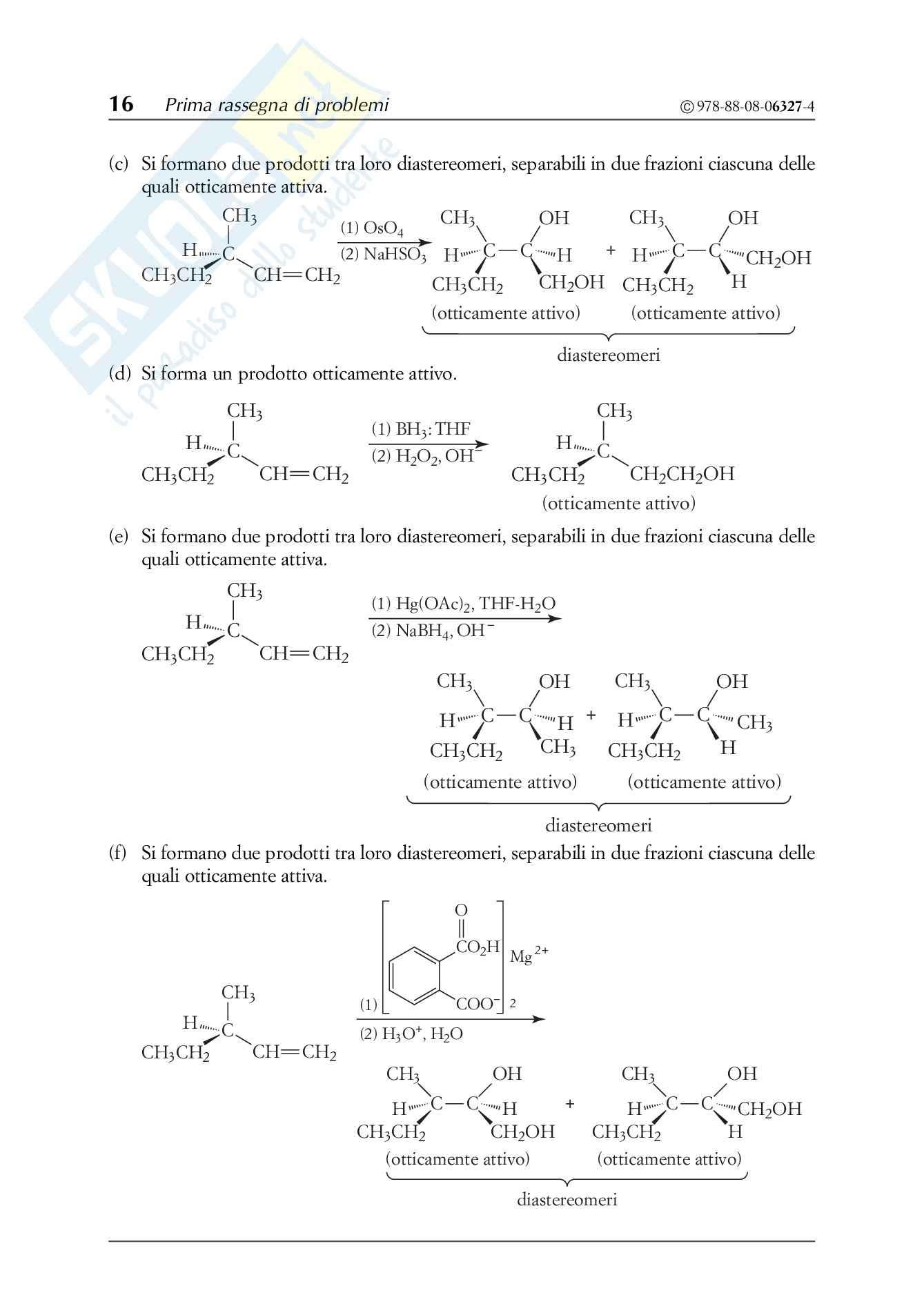 Chimica organica, Solomons - Esercizi prima parte Pag. 16