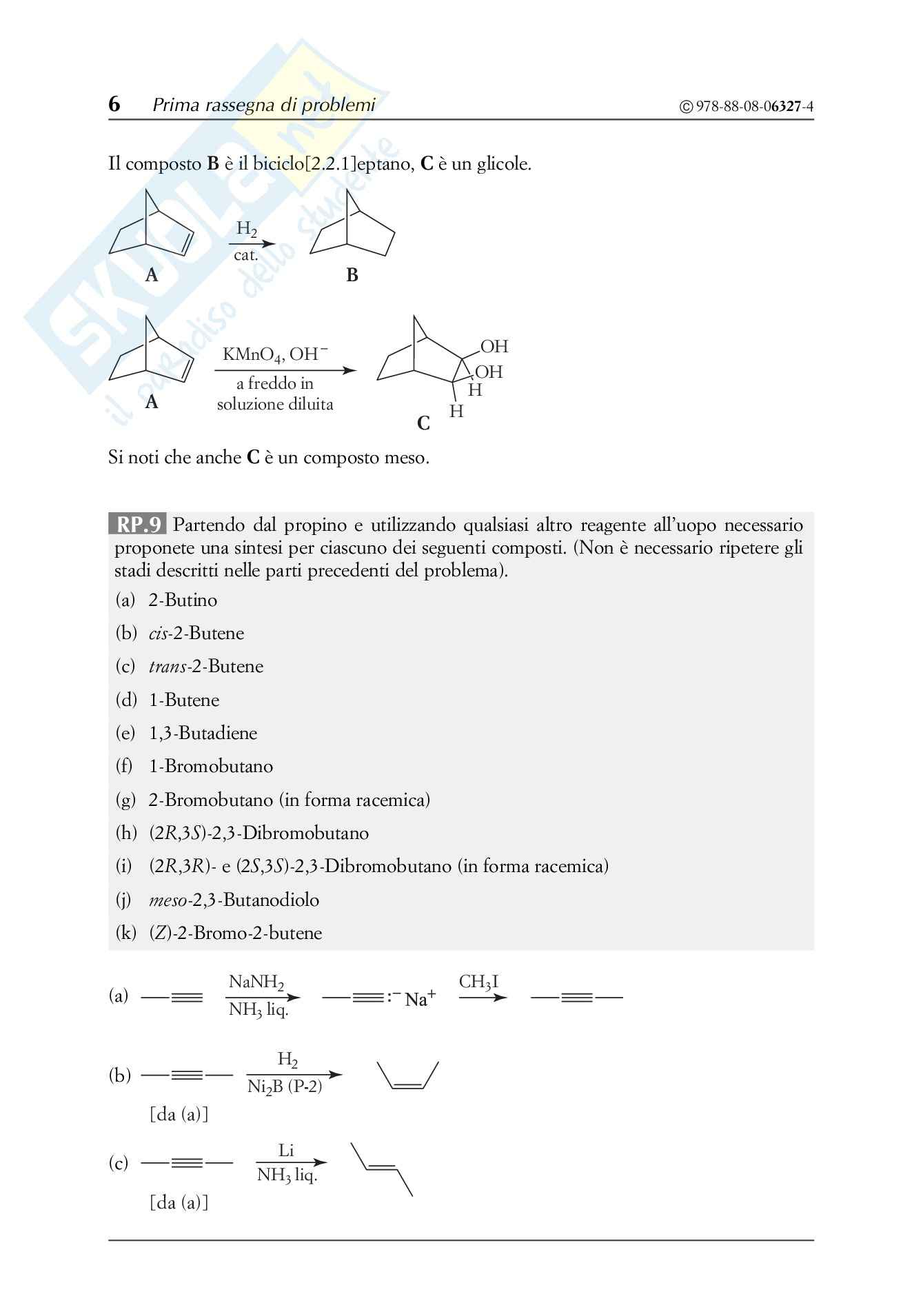 Chimica organica, Solomons - Esercizi prima parte Pag. 6