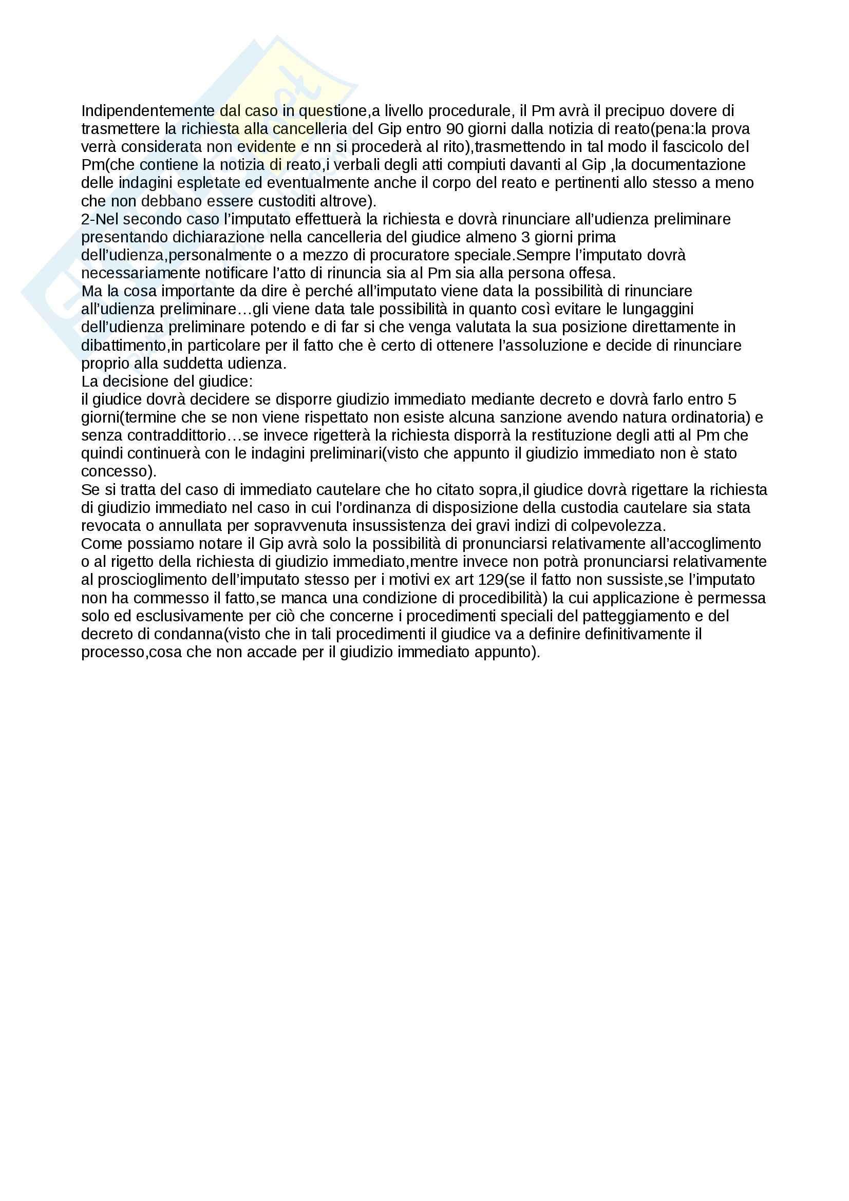 Schemi, Procedura penale Pag. 96