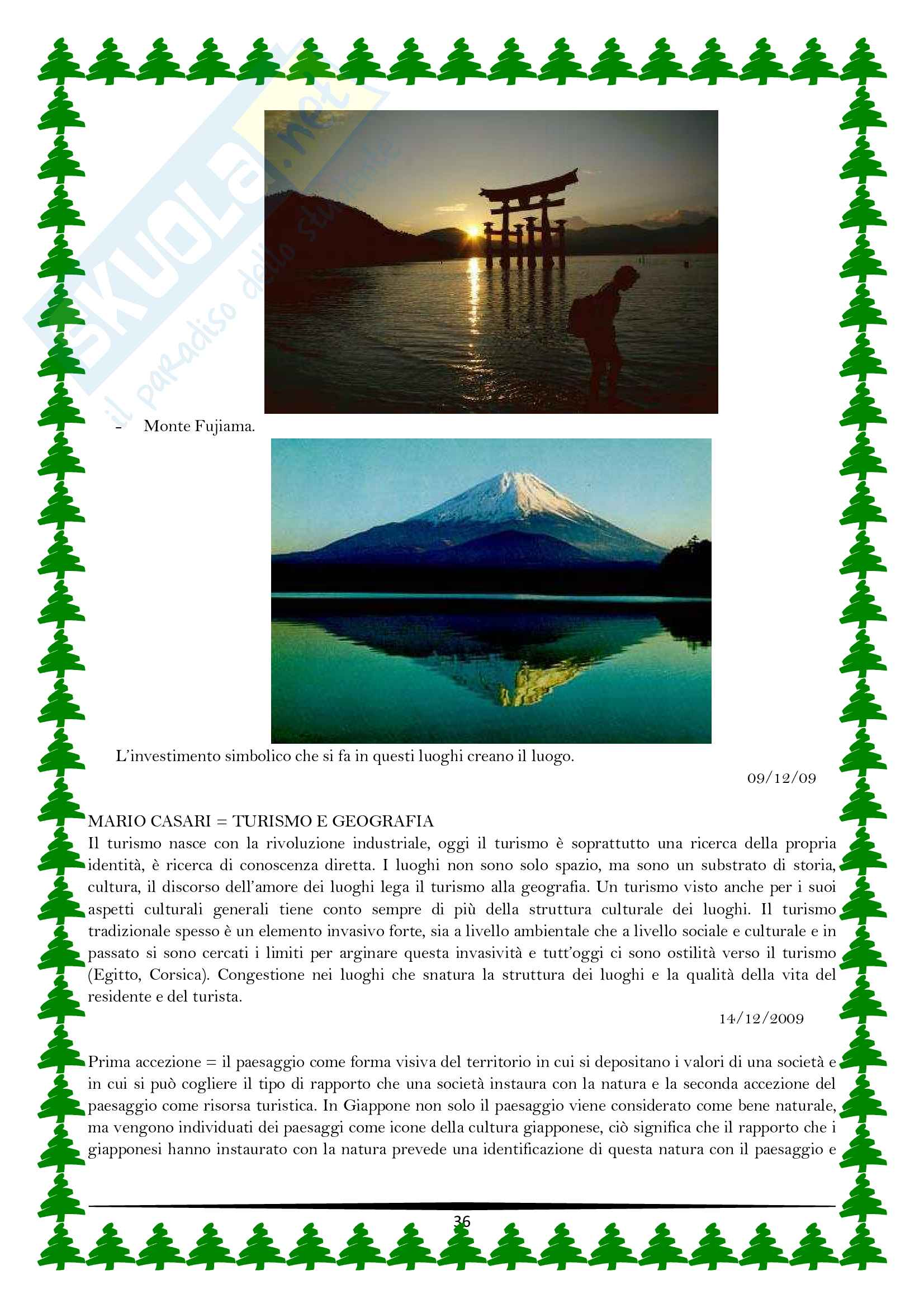 Geografia dell'ambiente e del turismo Pag. 36