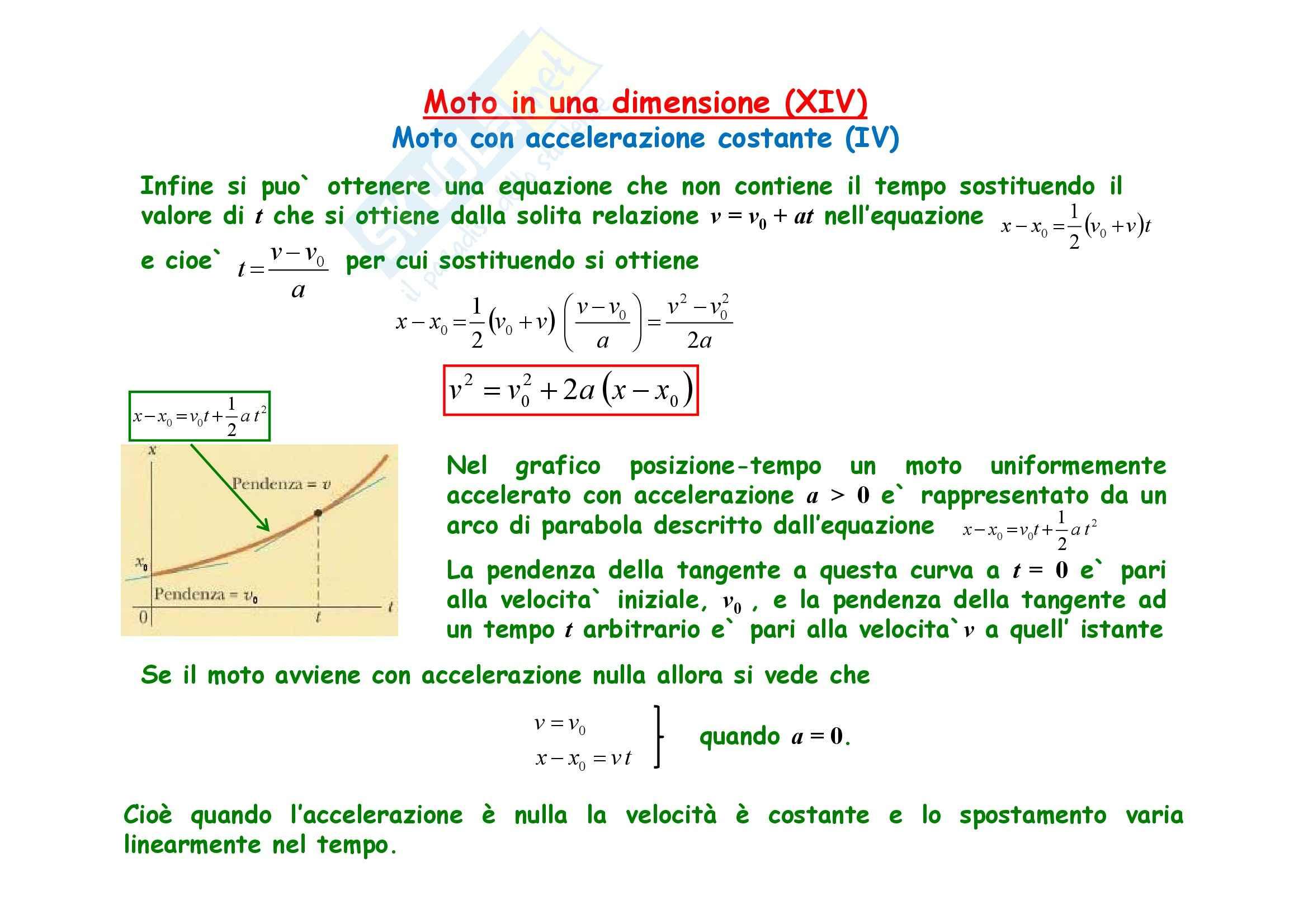 Fisica generale - la meccanica cinematica Pag. 16