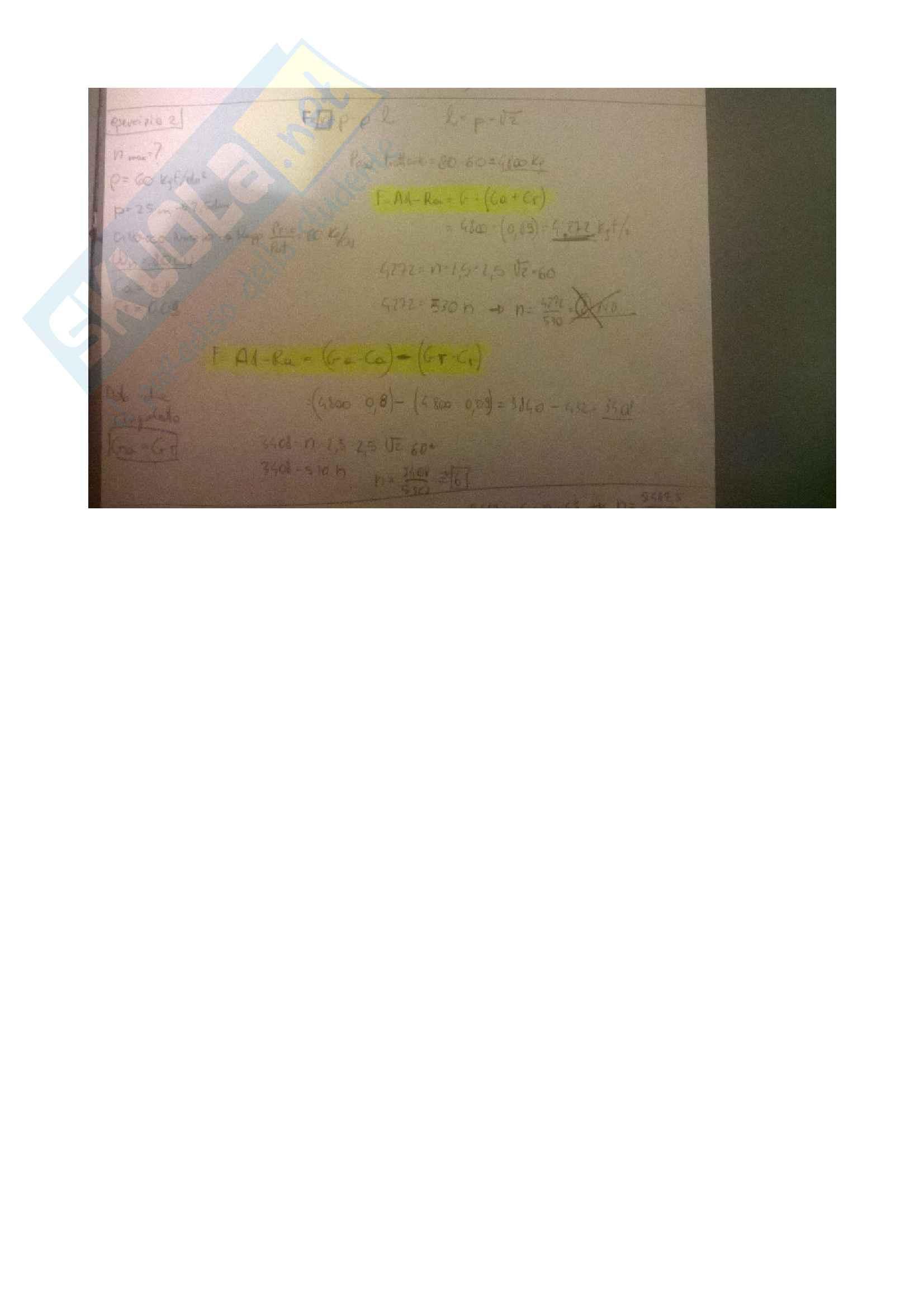 Esercizi Meccanica (Tutti gli esercizi con soluzioni dettagliate) Pag. 2