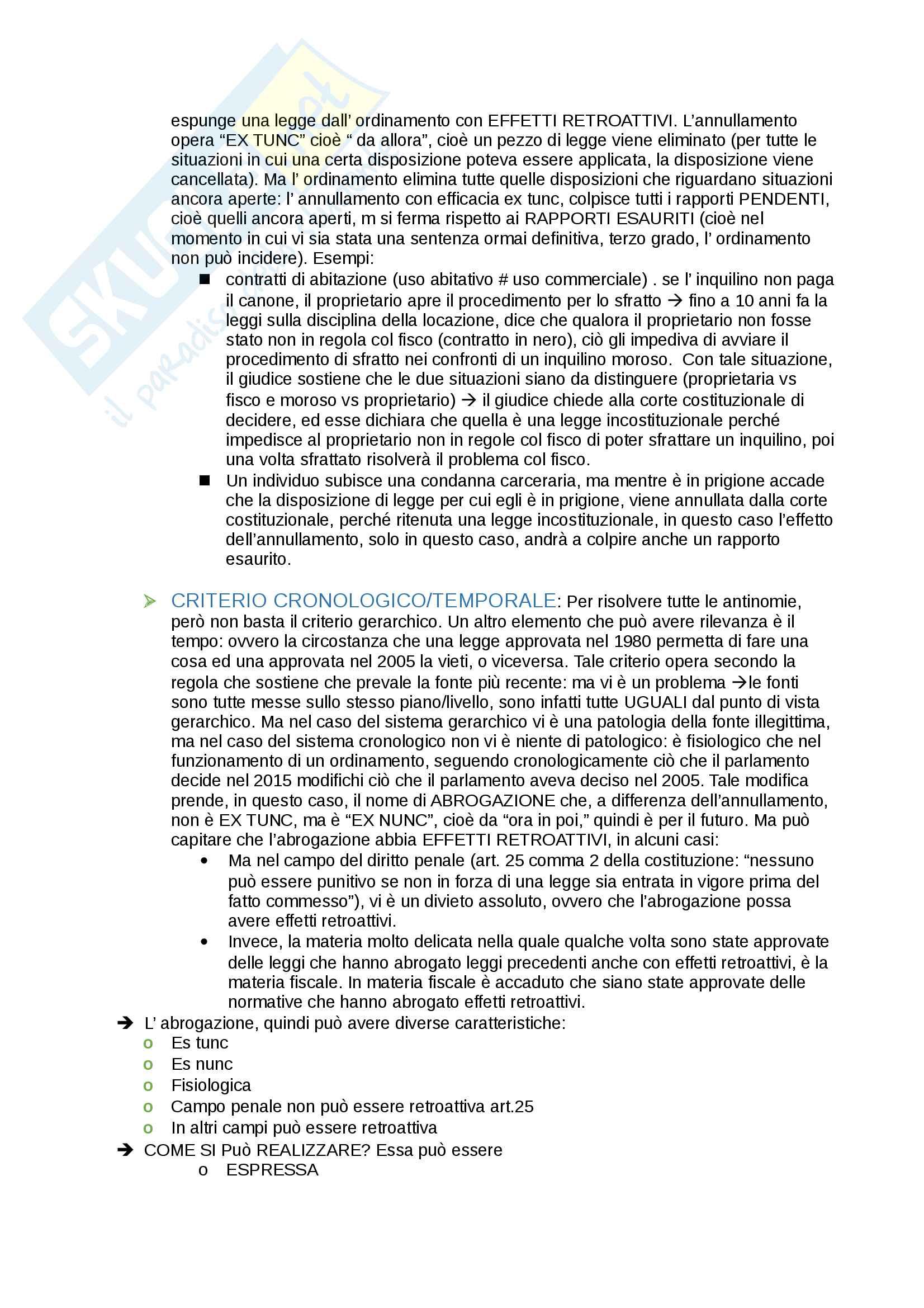 Istituzioni di diritto pubblico - appunti completi per l'esame Pag. 11