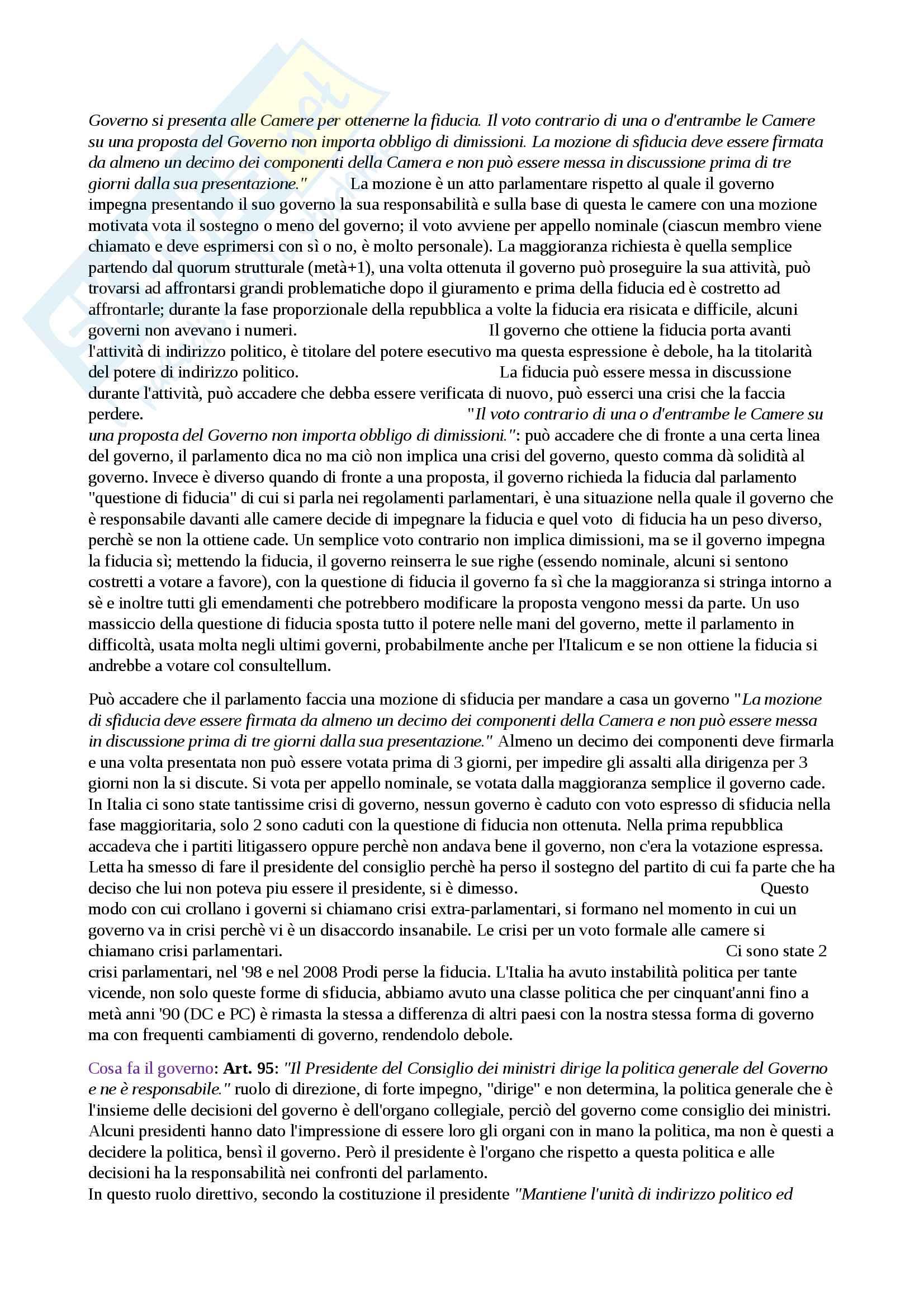 Istituzioni di diritto pubblico - appunti completi per l'esame Pag. 31