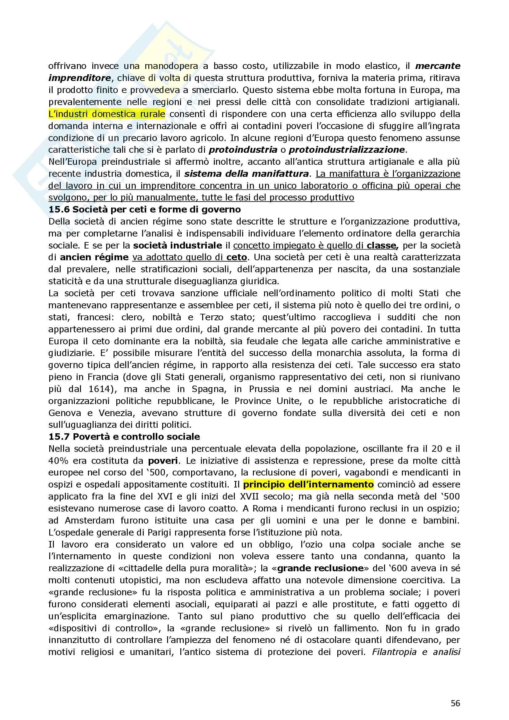 Riassunto esame Storia Moderna, prof. indefinito, libro consigliato Manuale di storia moderna, Ago, Vidotto Pag. 56