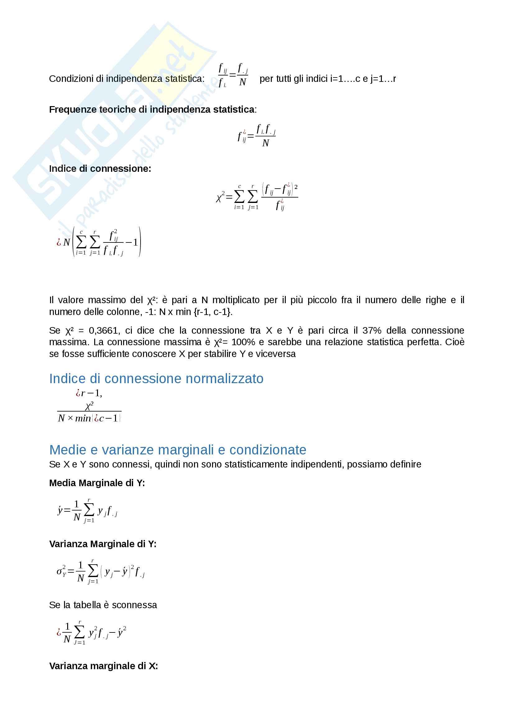 Riassunto esame Statistica, Docente Mecatti, libro consigliato Statistica di Base. Come, quando e perché, Mecatti Pag. 6