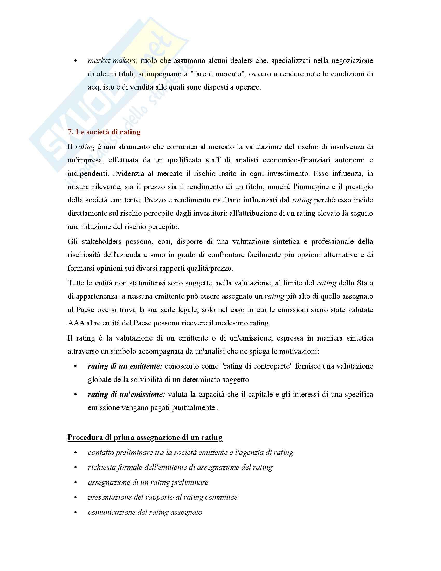 Riassunto esame Gestione, prof. Ferretti, libro consigliato Principi di finanza aziendale, Corvi Pag. 31