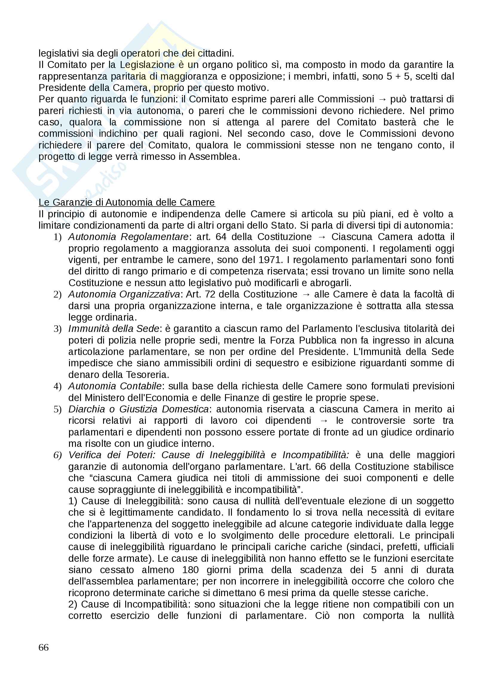 Costituzionale I Pag. 66