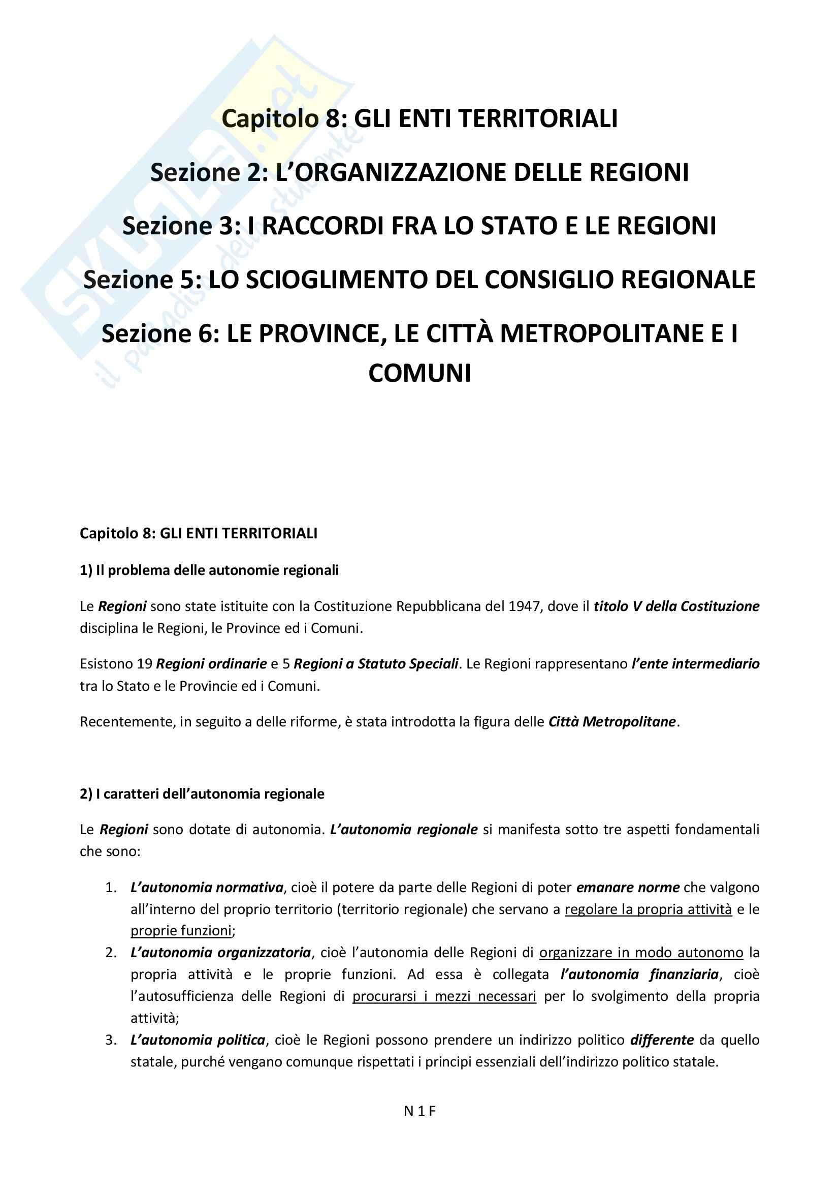 appunto P. Falzea diritto pubblico