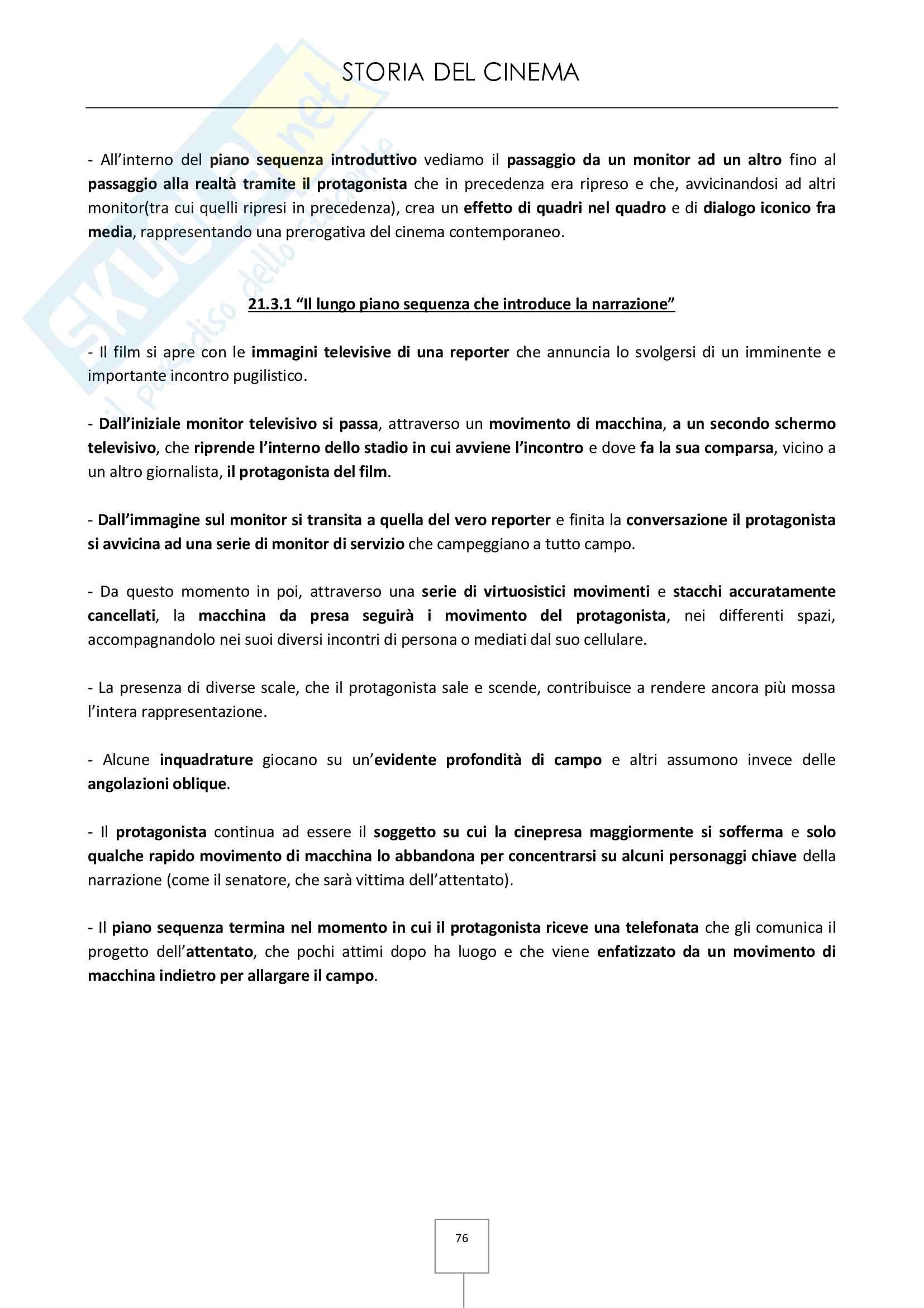Storia del cinema - Appunti e schede dei film in programma Pag. 76