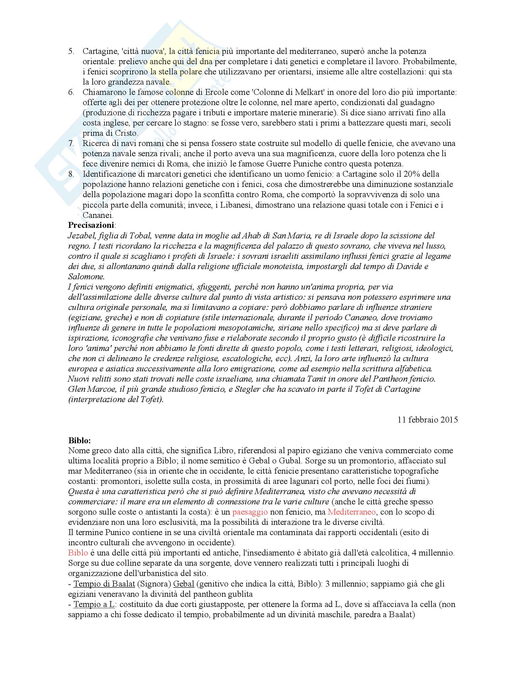 Archeologia Fenicio Punica Pag. 6